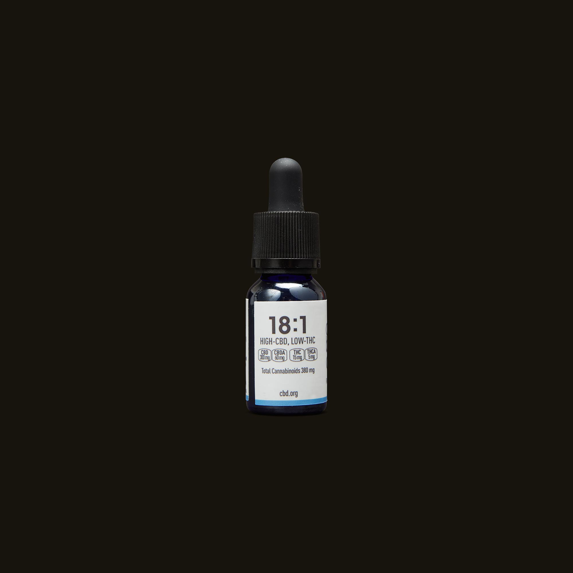 Care By Design 18:1 Full Spectrum CBD Drops - 0.5oz Back Tincture