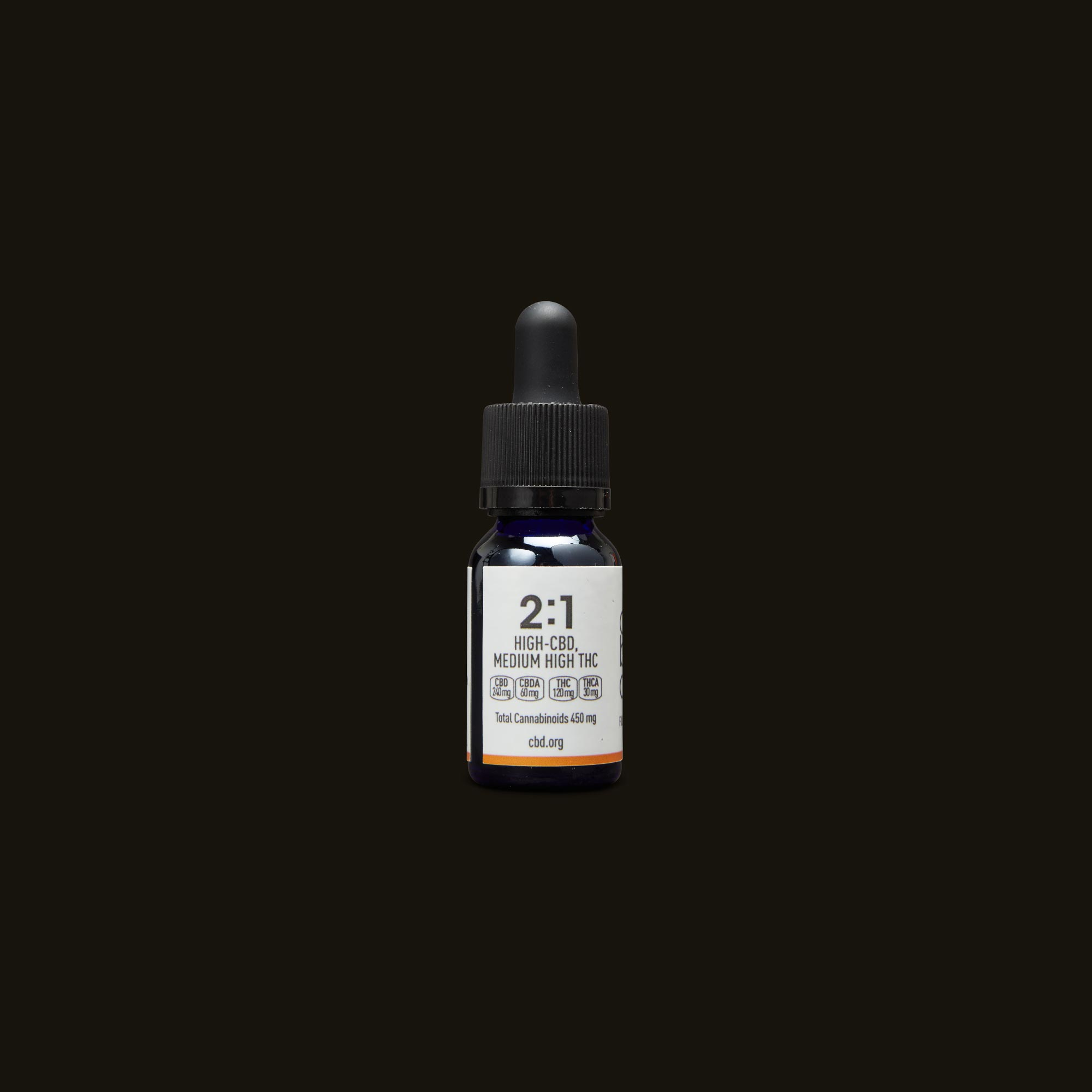 Care By Design 2:1 Full Spectrum CBD Drops - 0.5oz Back Tincture