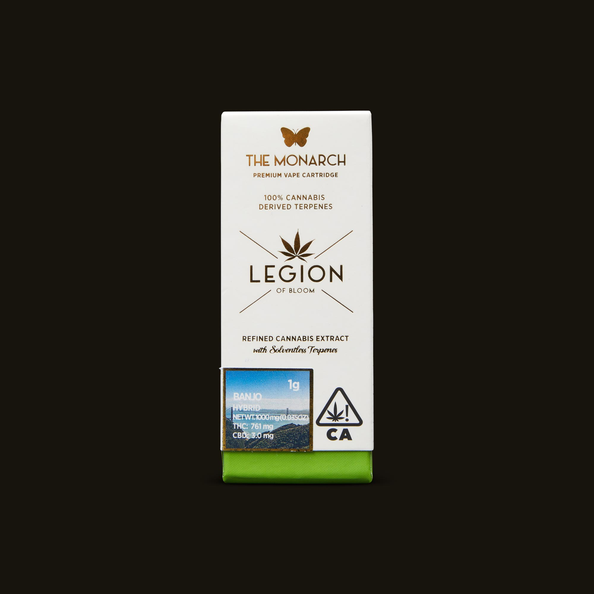 Legion of Bloom Banjo Monarch 1g Front Packaging