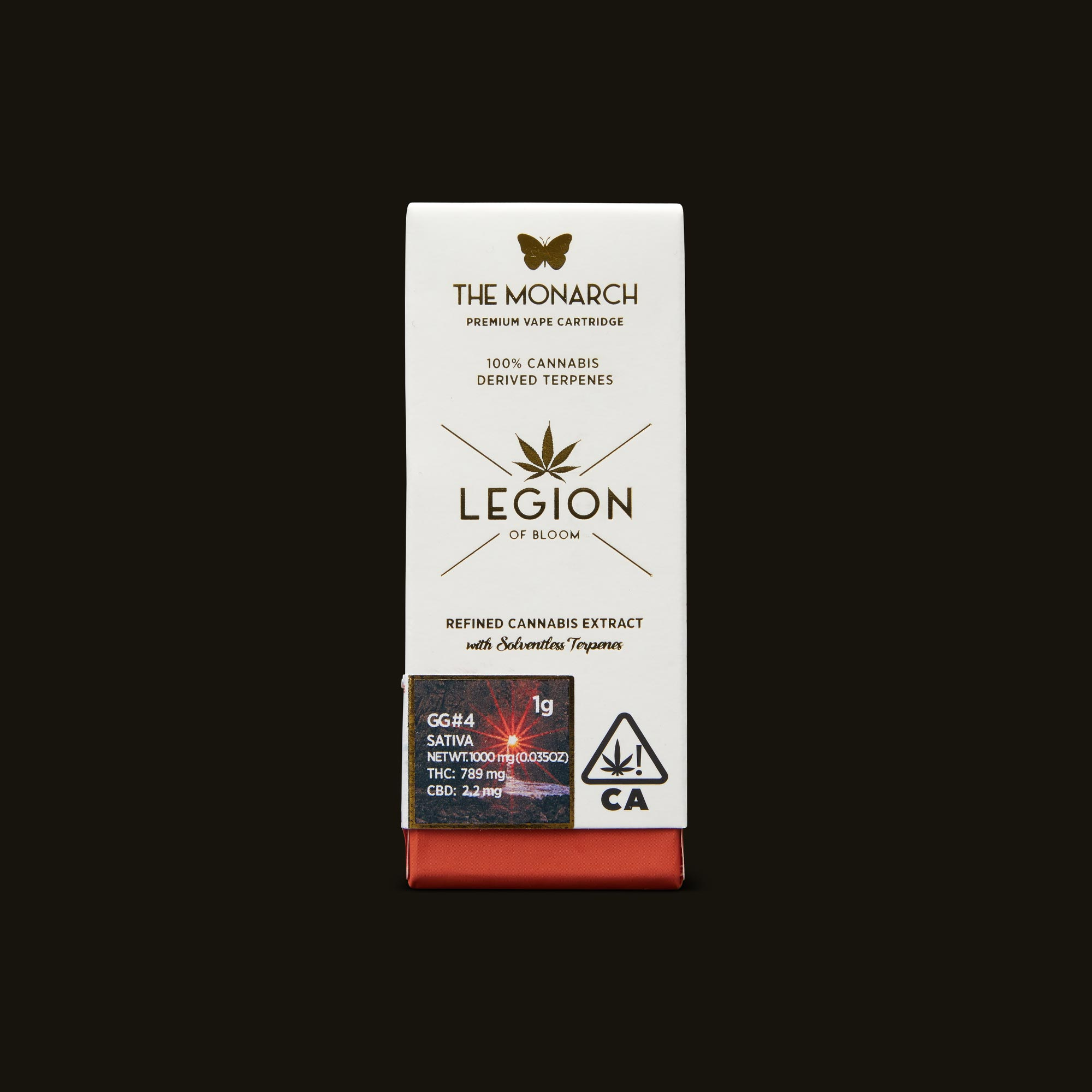 Legion of Bloom GG #4 Monarch 1g Front Packaging