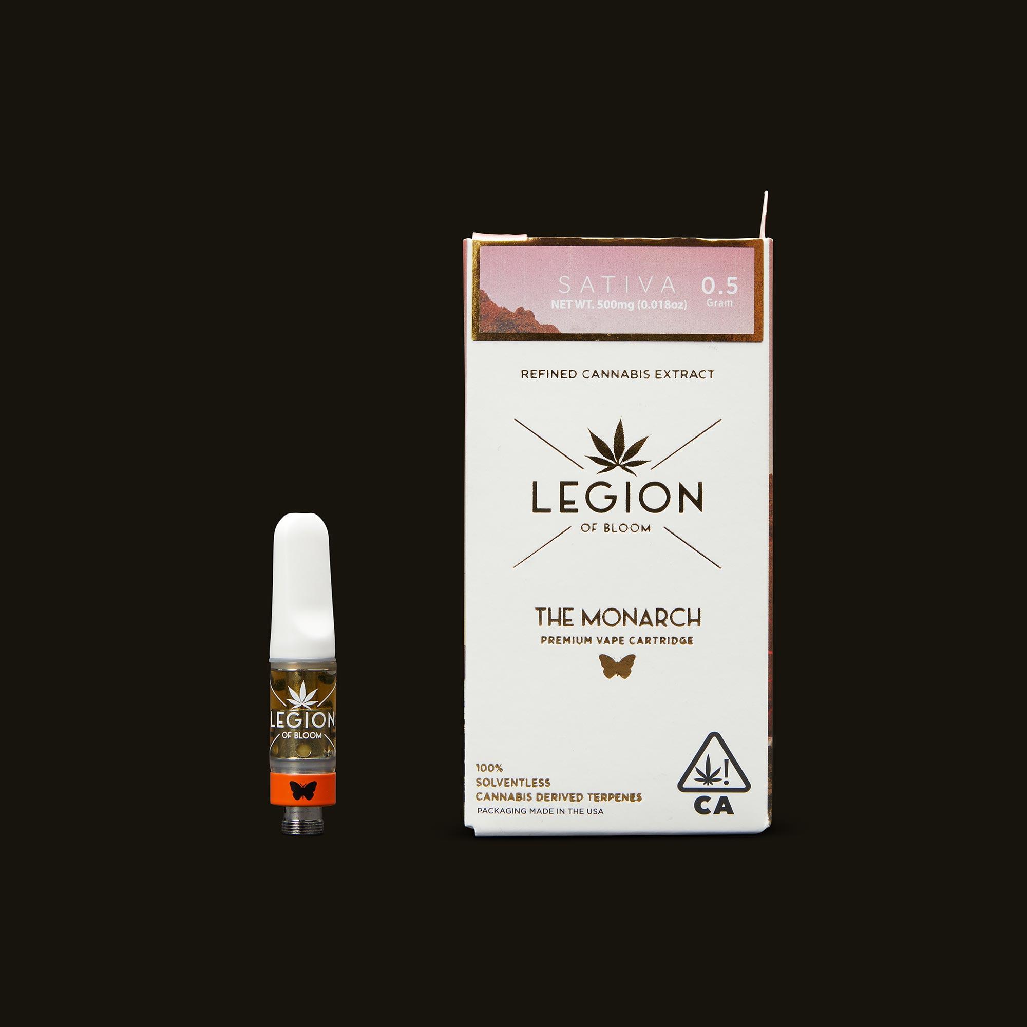 Legion of Bloom GG #4 Monarch .5g