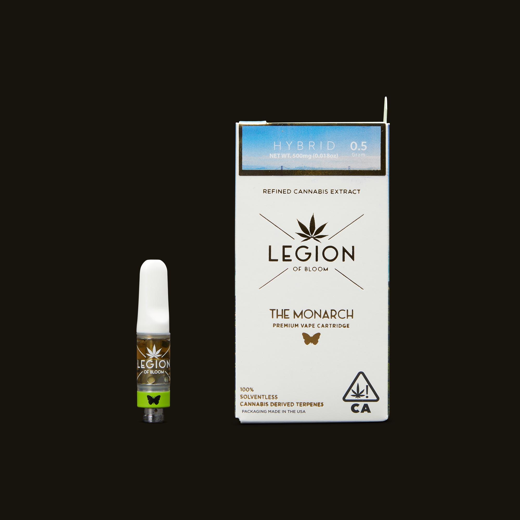 Legion of Bloom Orange Creamsicle Monarch .5g