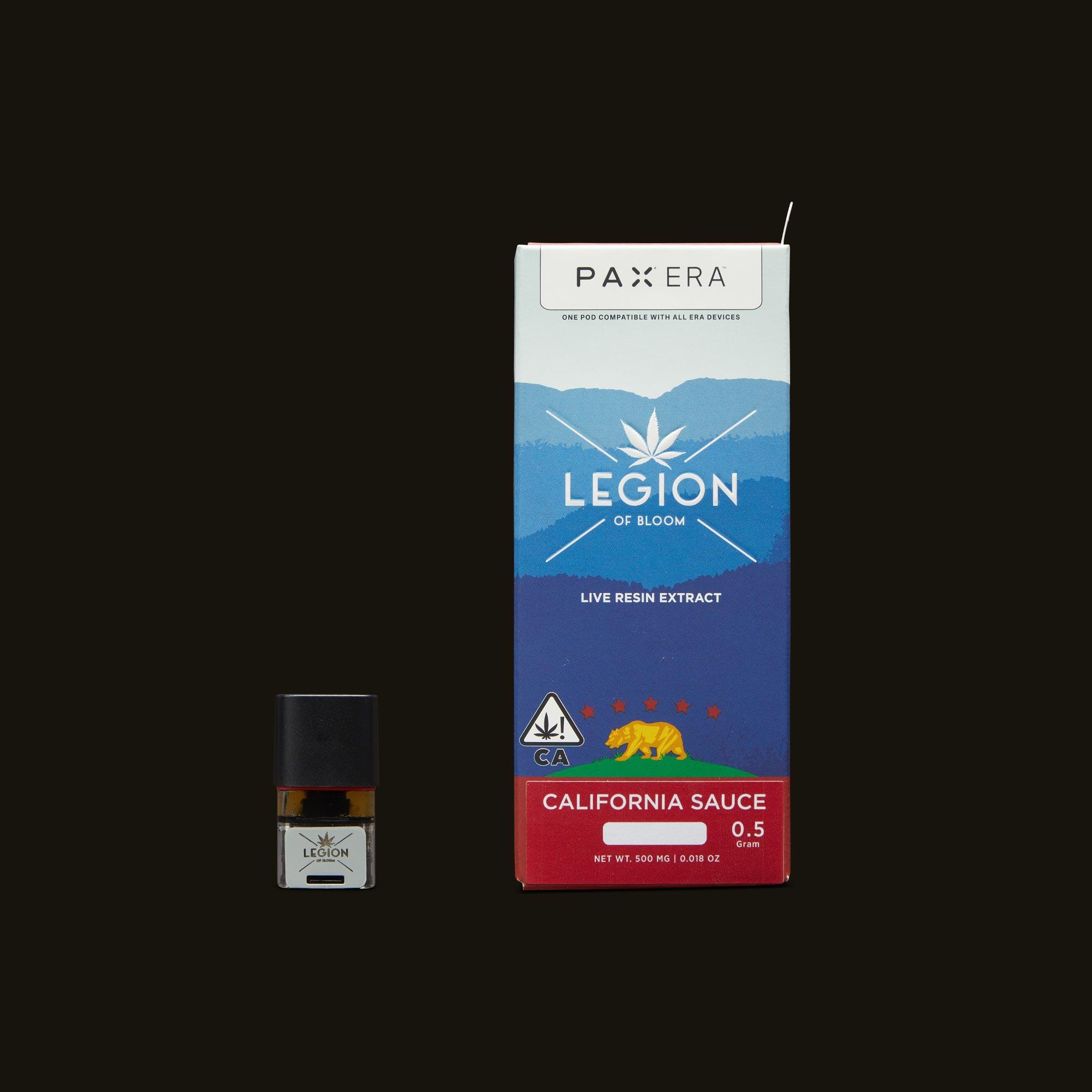 Legion of Bloom Forbidden Gusher Sauce PAX Era Pod