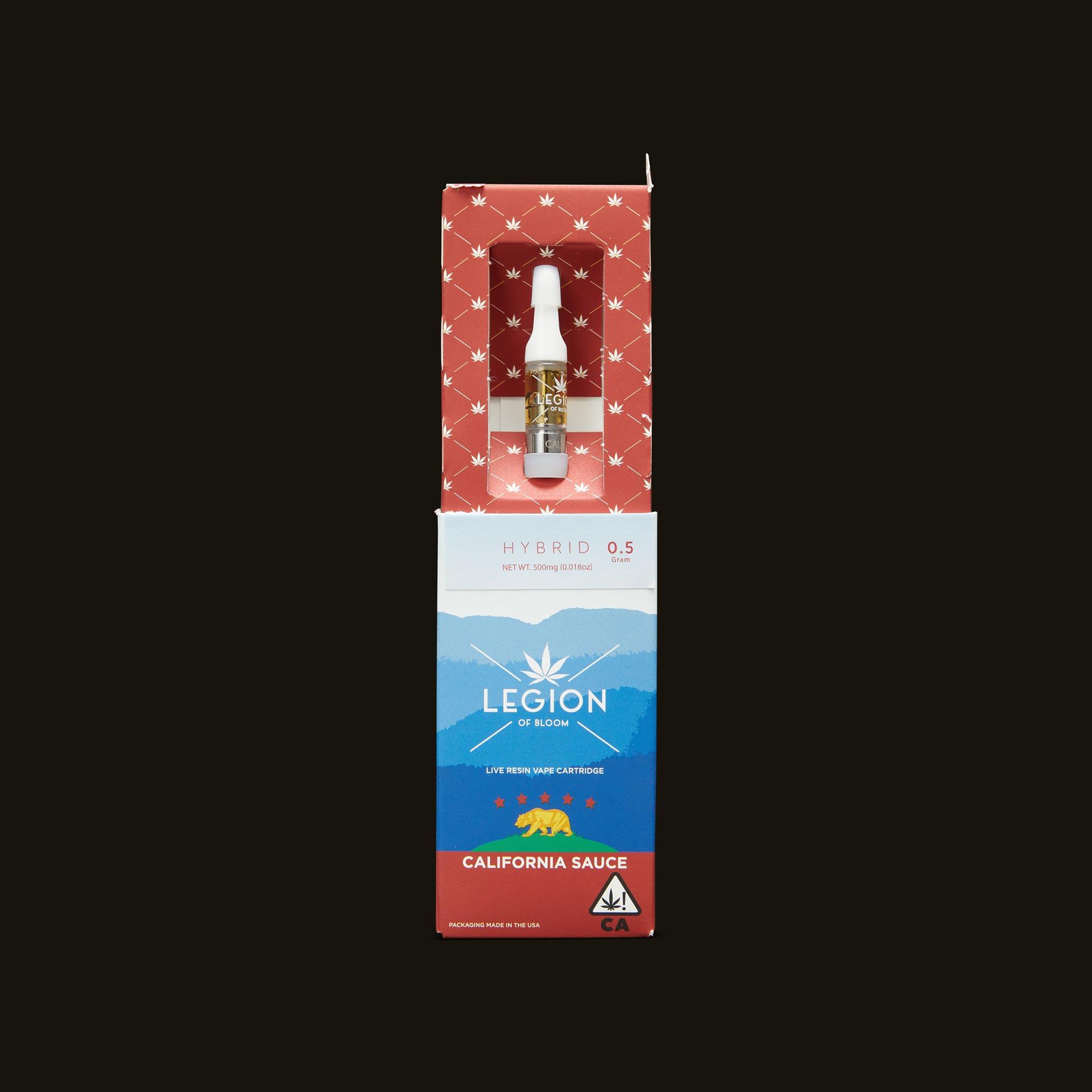 Legion of Bloom Orange Creamsicle Sauce Cartridge