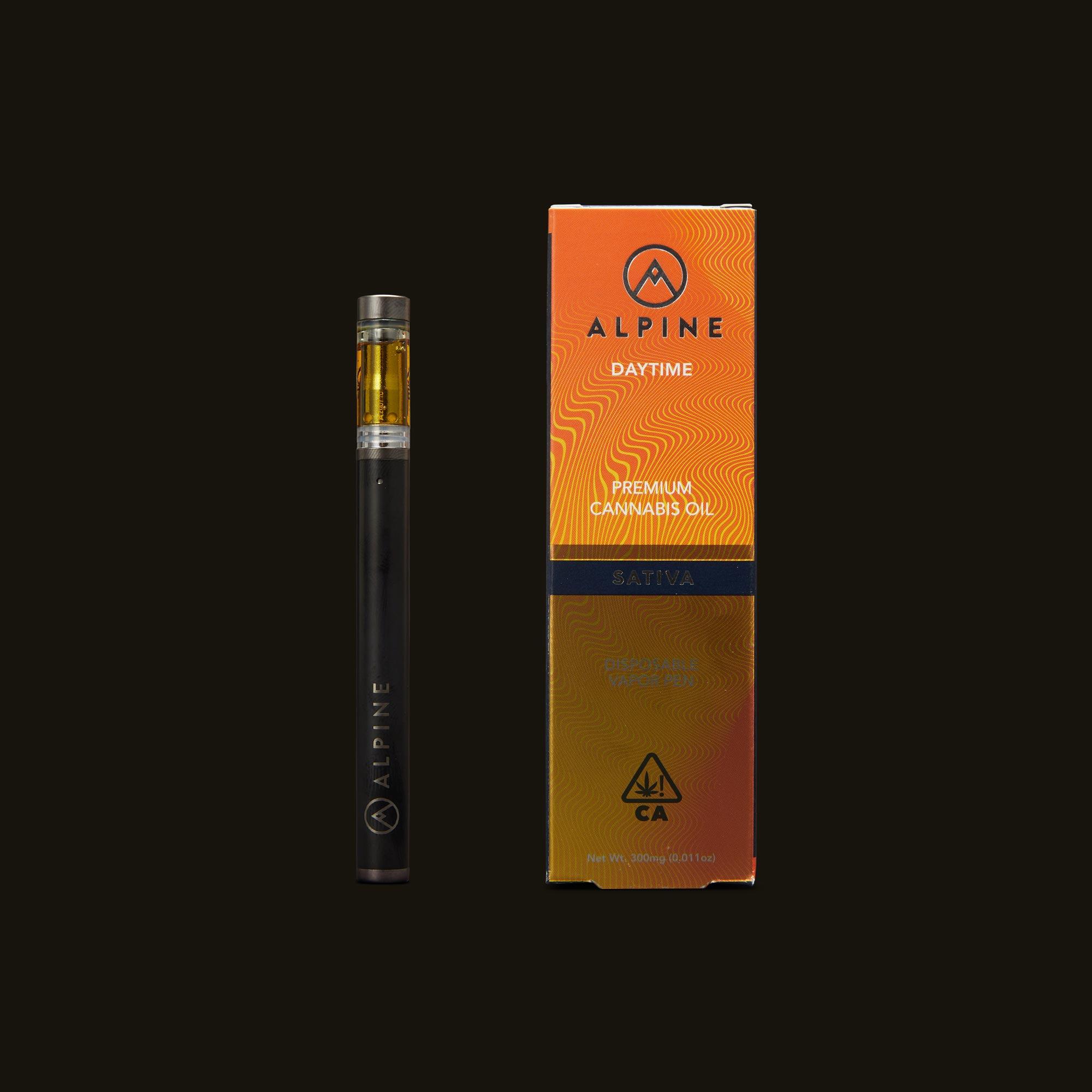 Alpine Vapor Super Silver Haze Disposable Vapor Pen