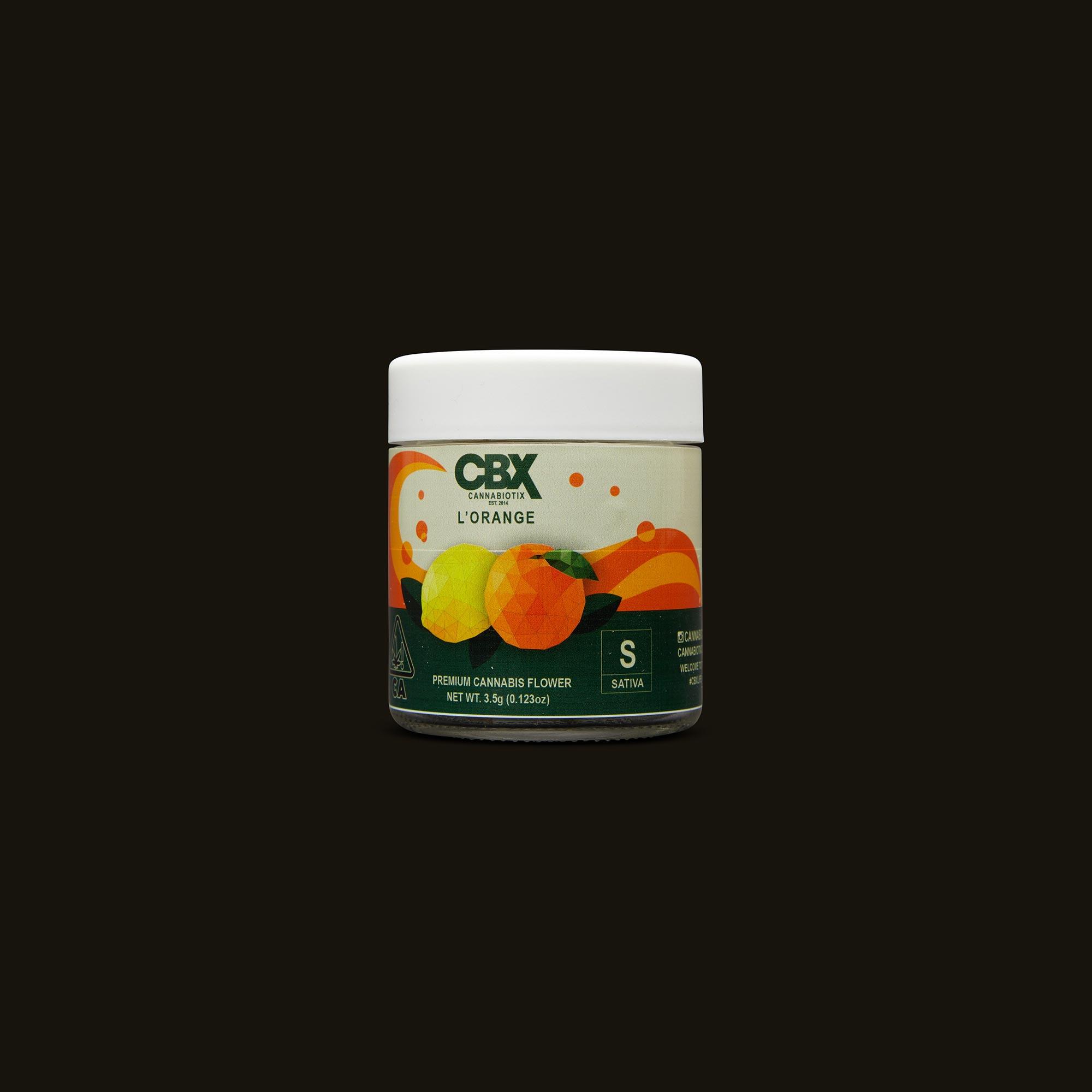 Cannabiotix (CBX) L'Orange Front Packaging