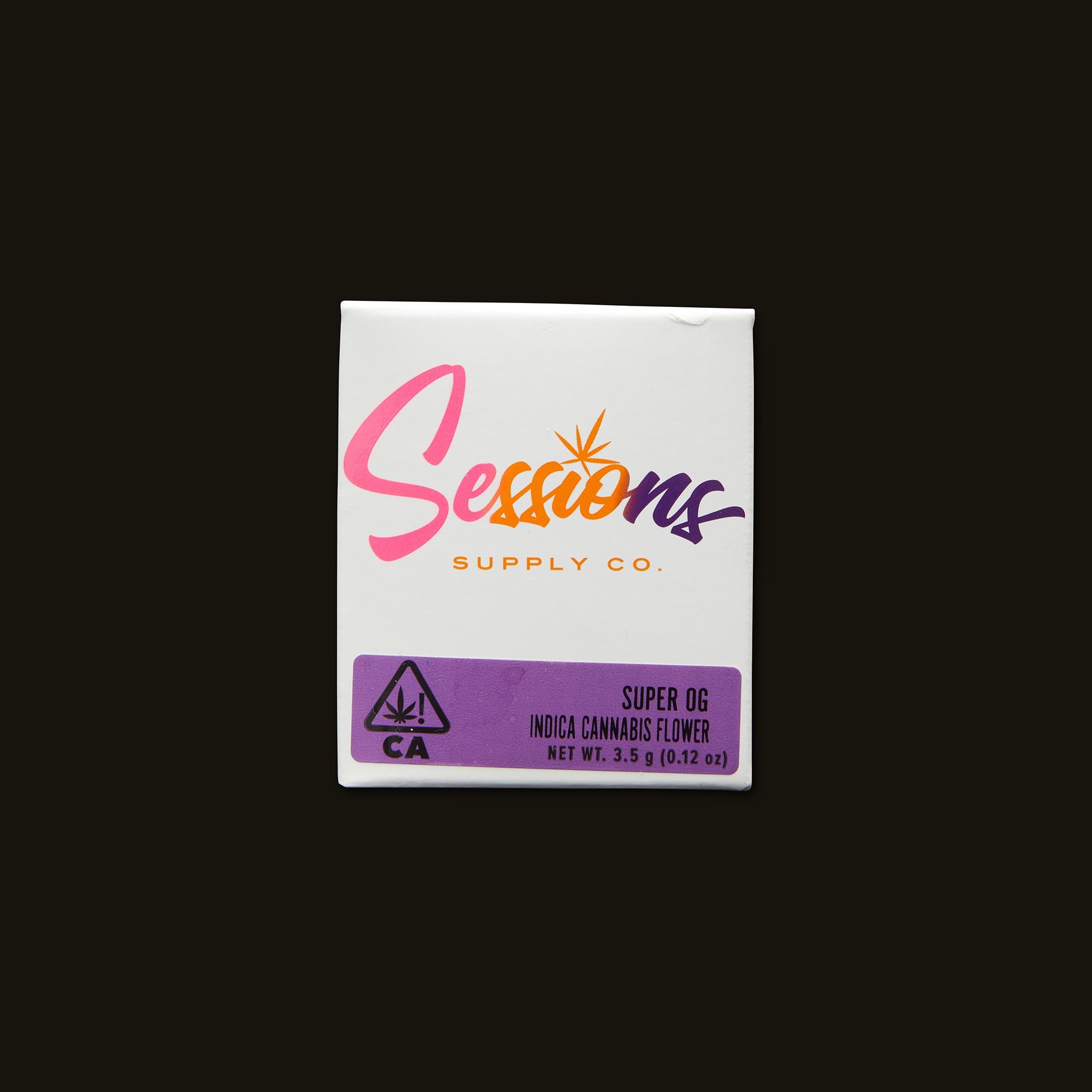 Sessions Super OG Front Packaging