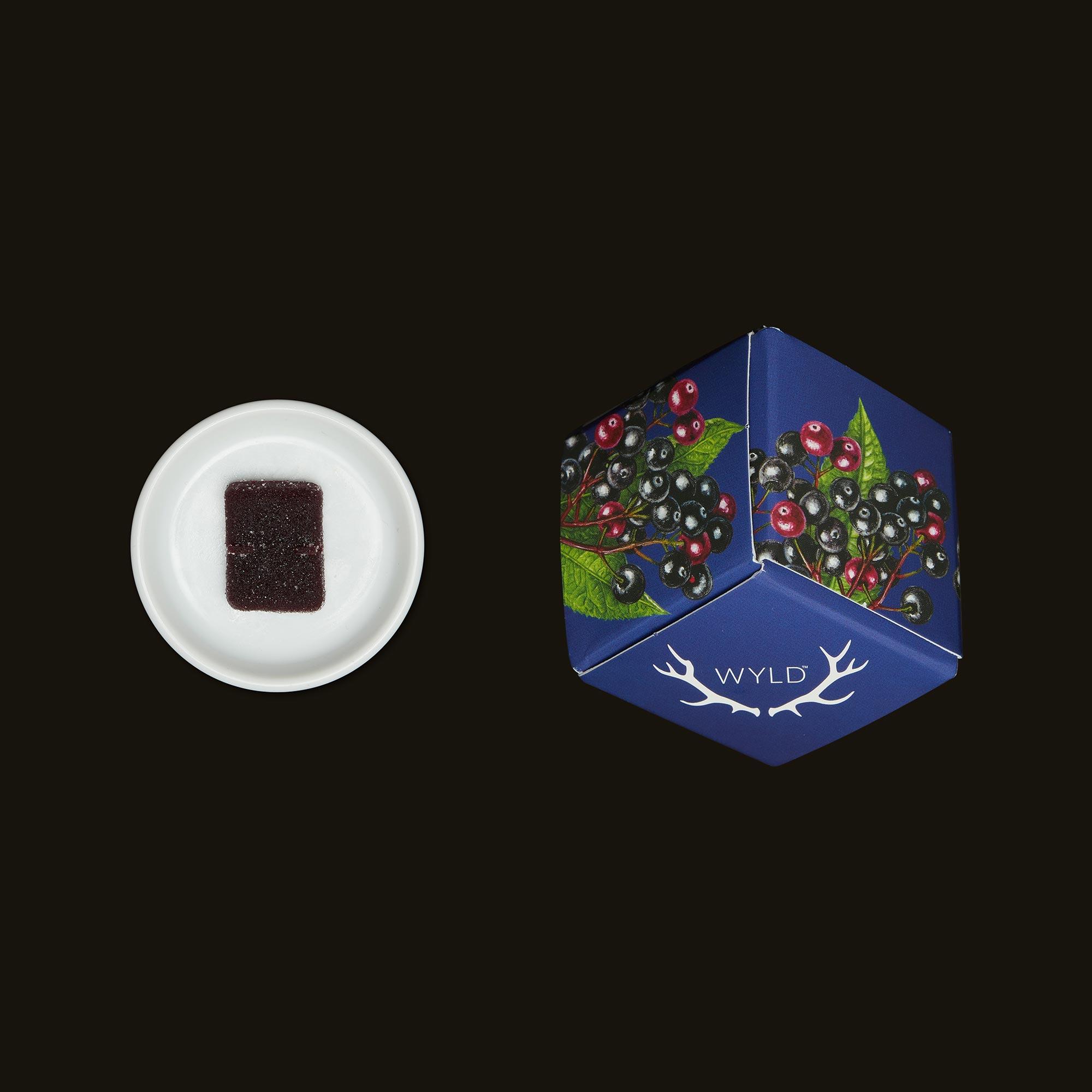 Wyld Elderberry CBN Gummies