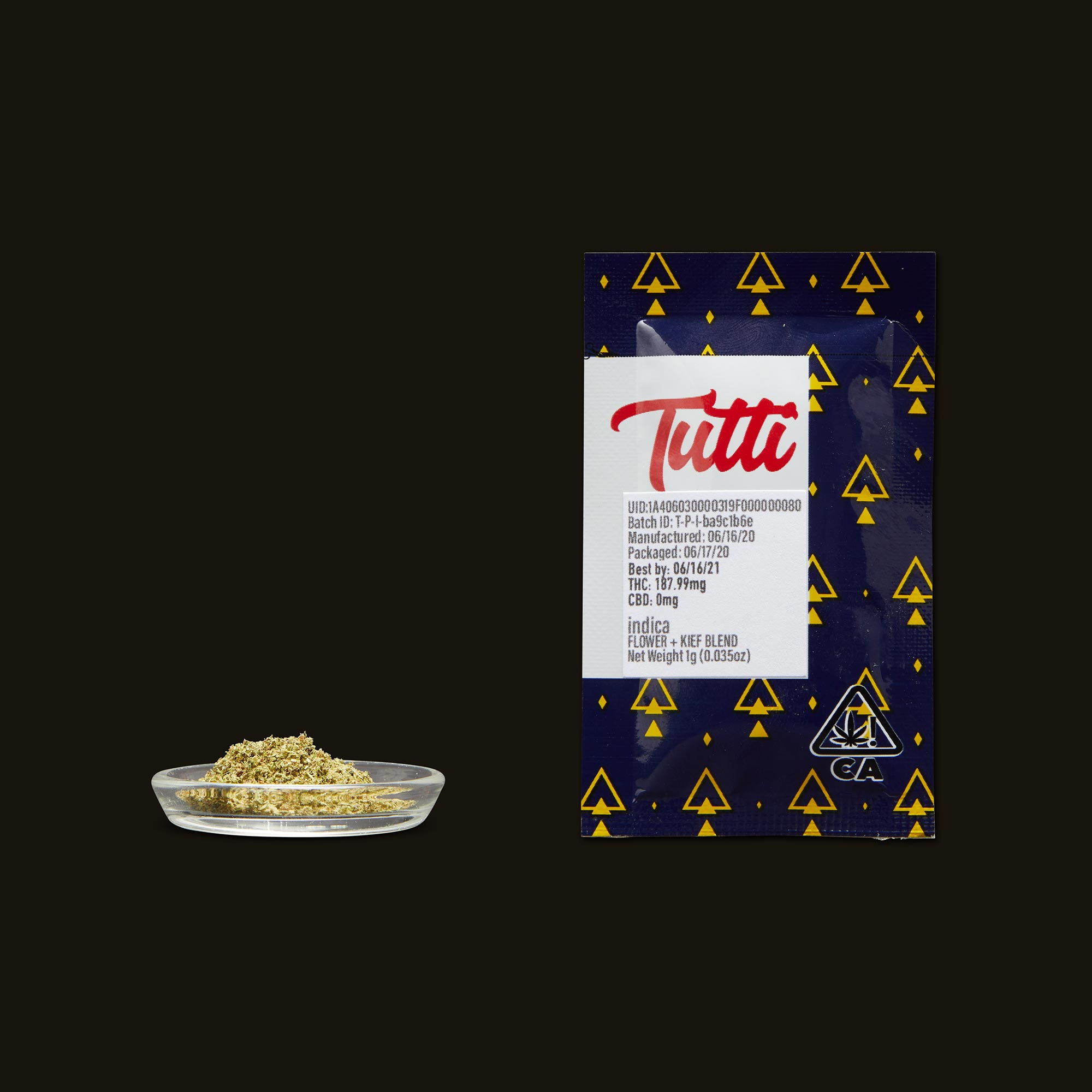 Tutti Indica Infused Pouch - 1g