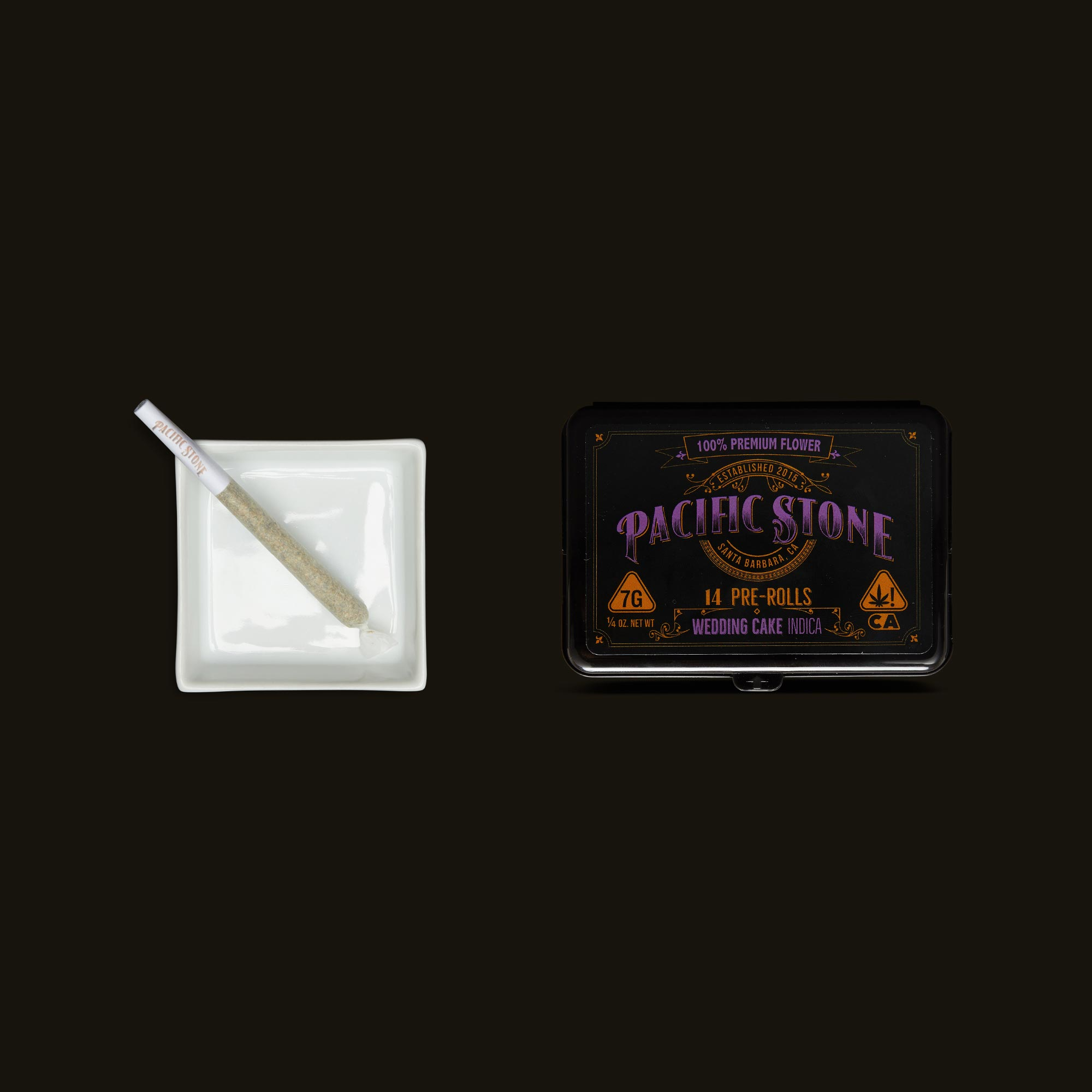 Pacific Stone Wedding Cake Pre-Roll Pack