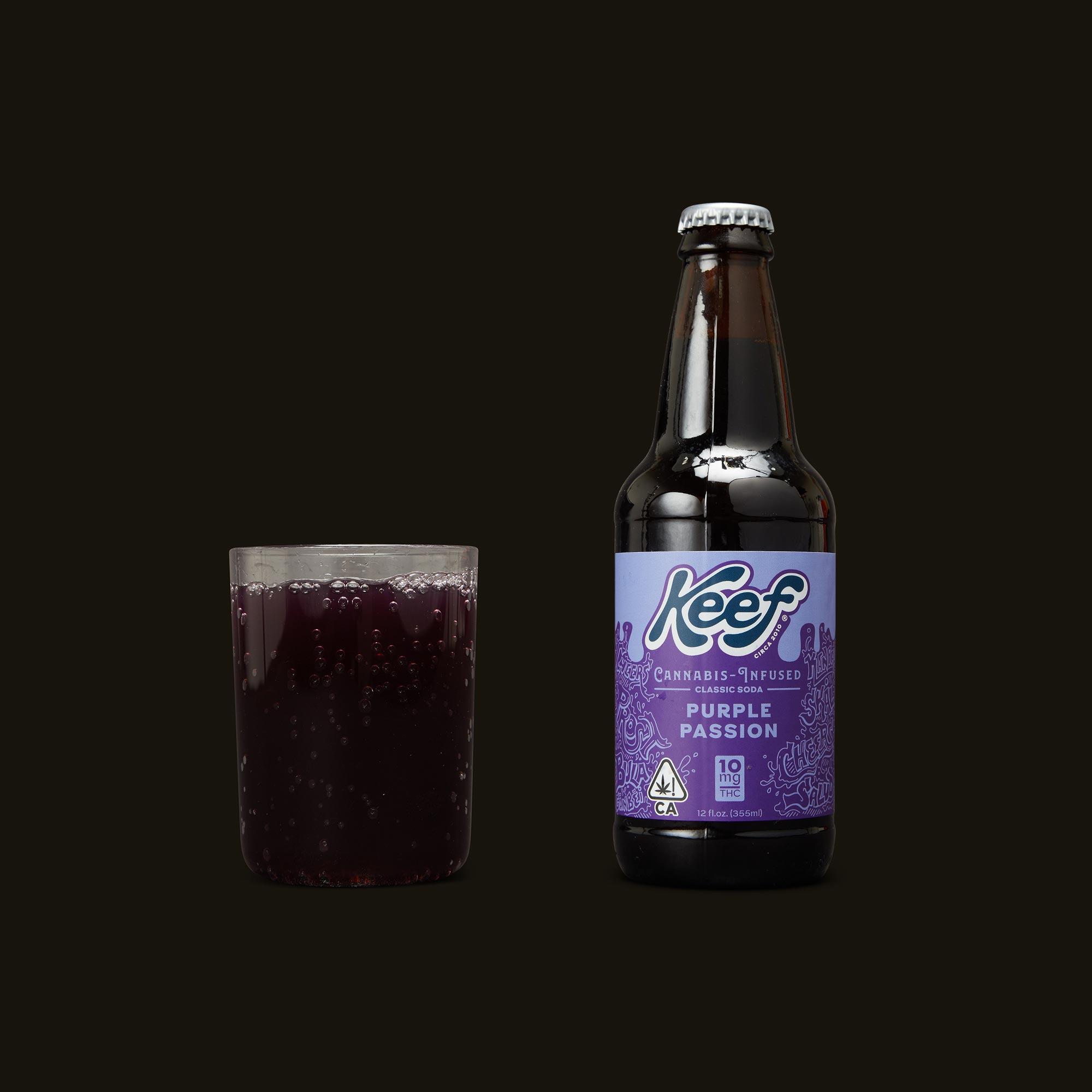Keef Cola Purple Passion Soda