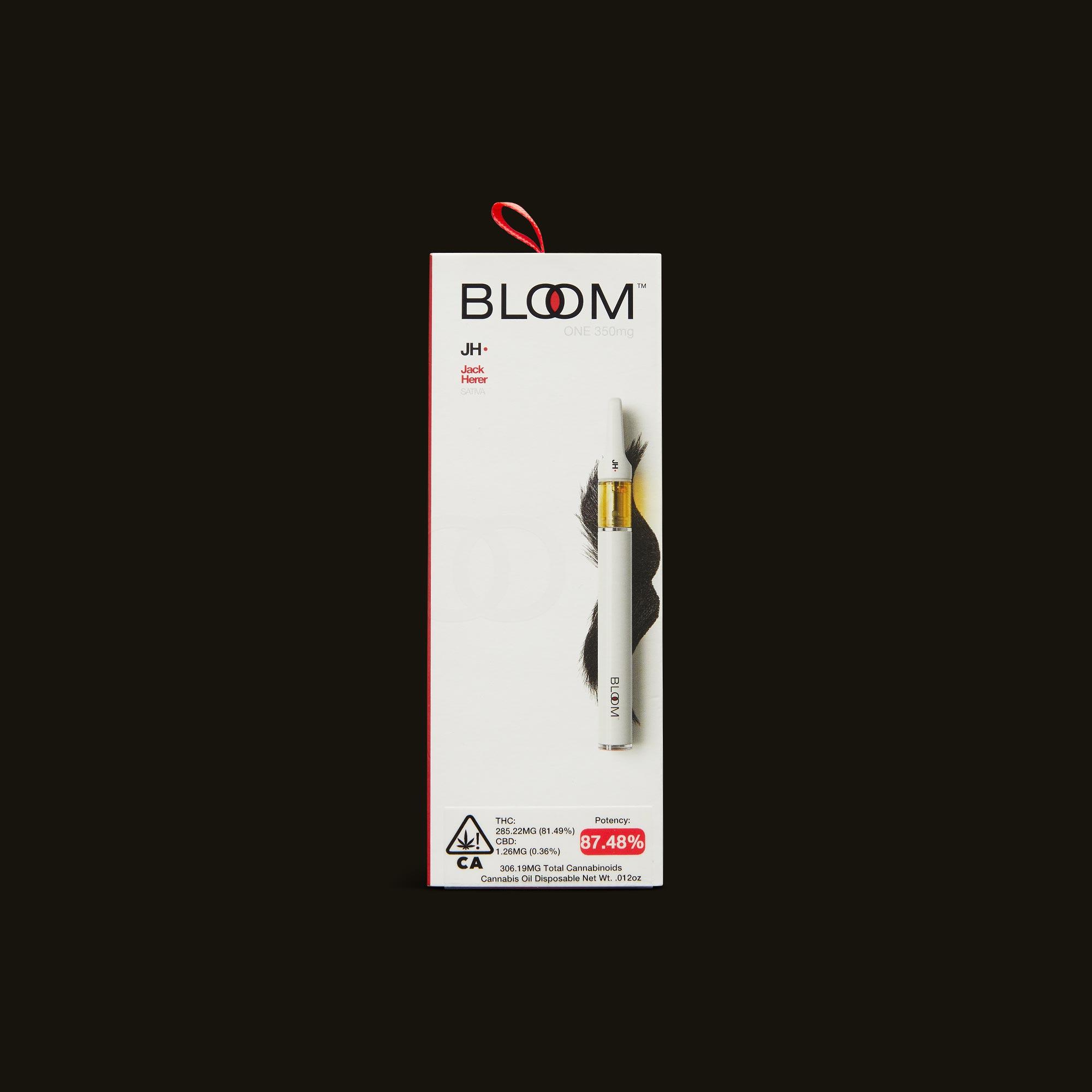 Bloom Jack Herer Bloom One Front Packaging