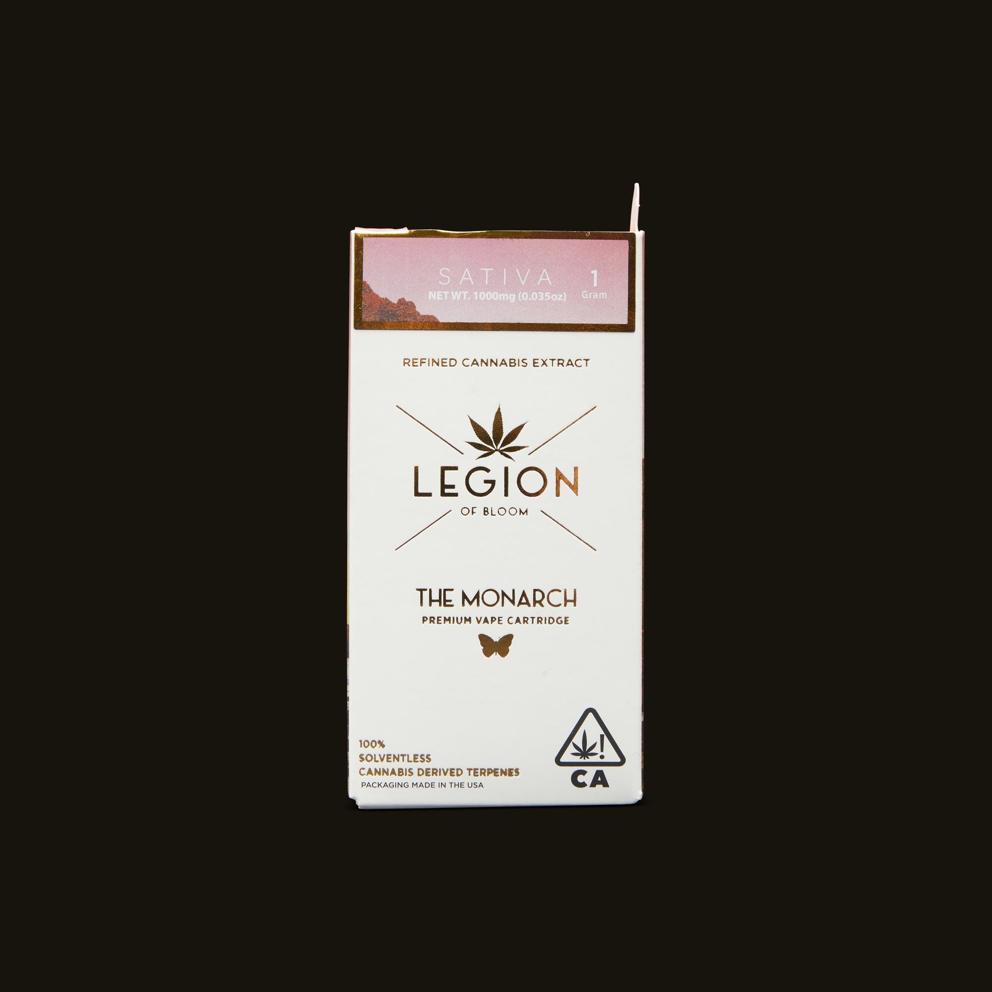 Legion of Bloom Chem Dawg Reserve Monarch 1g