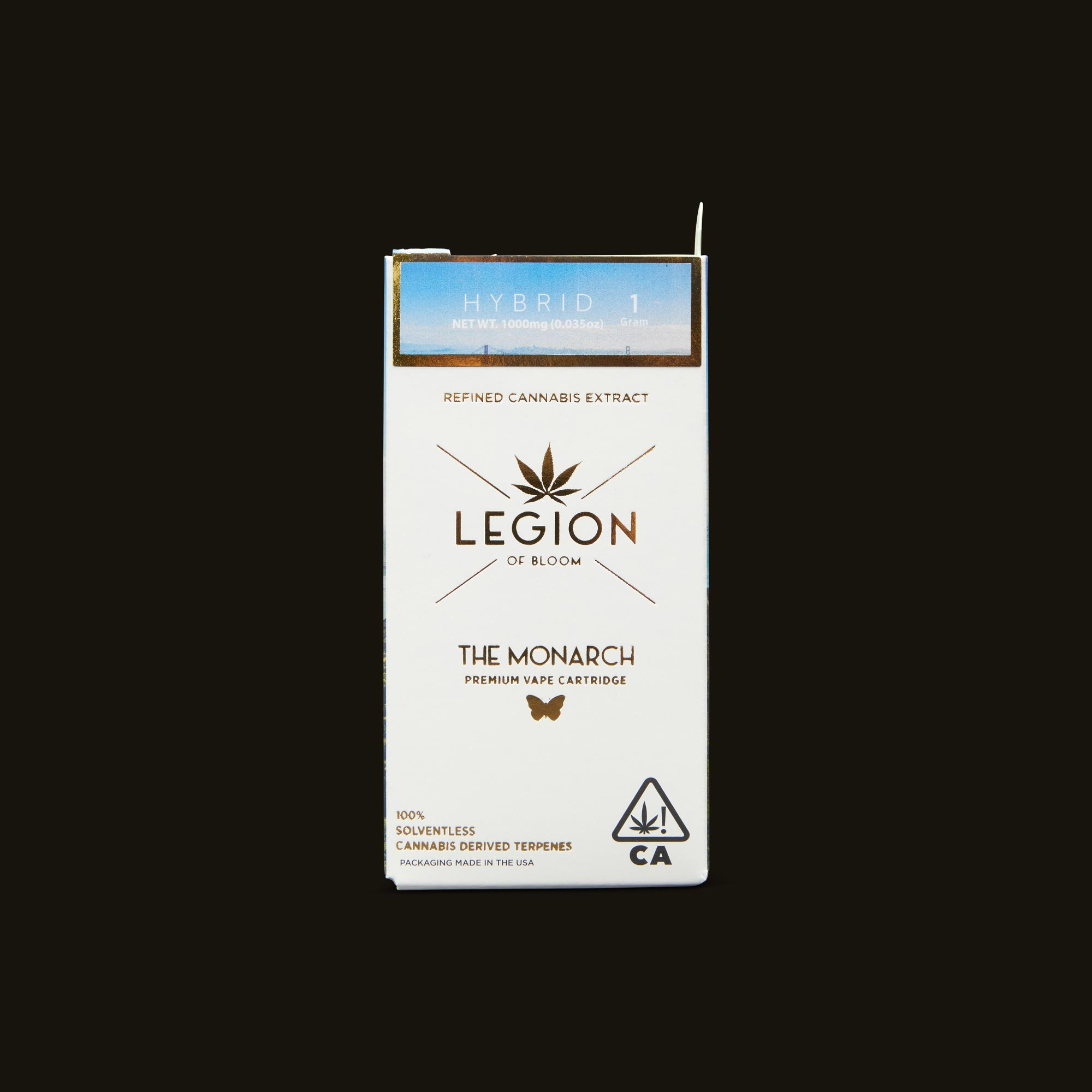 Legion of Bloom Orange Creamsicle Monarch 1g