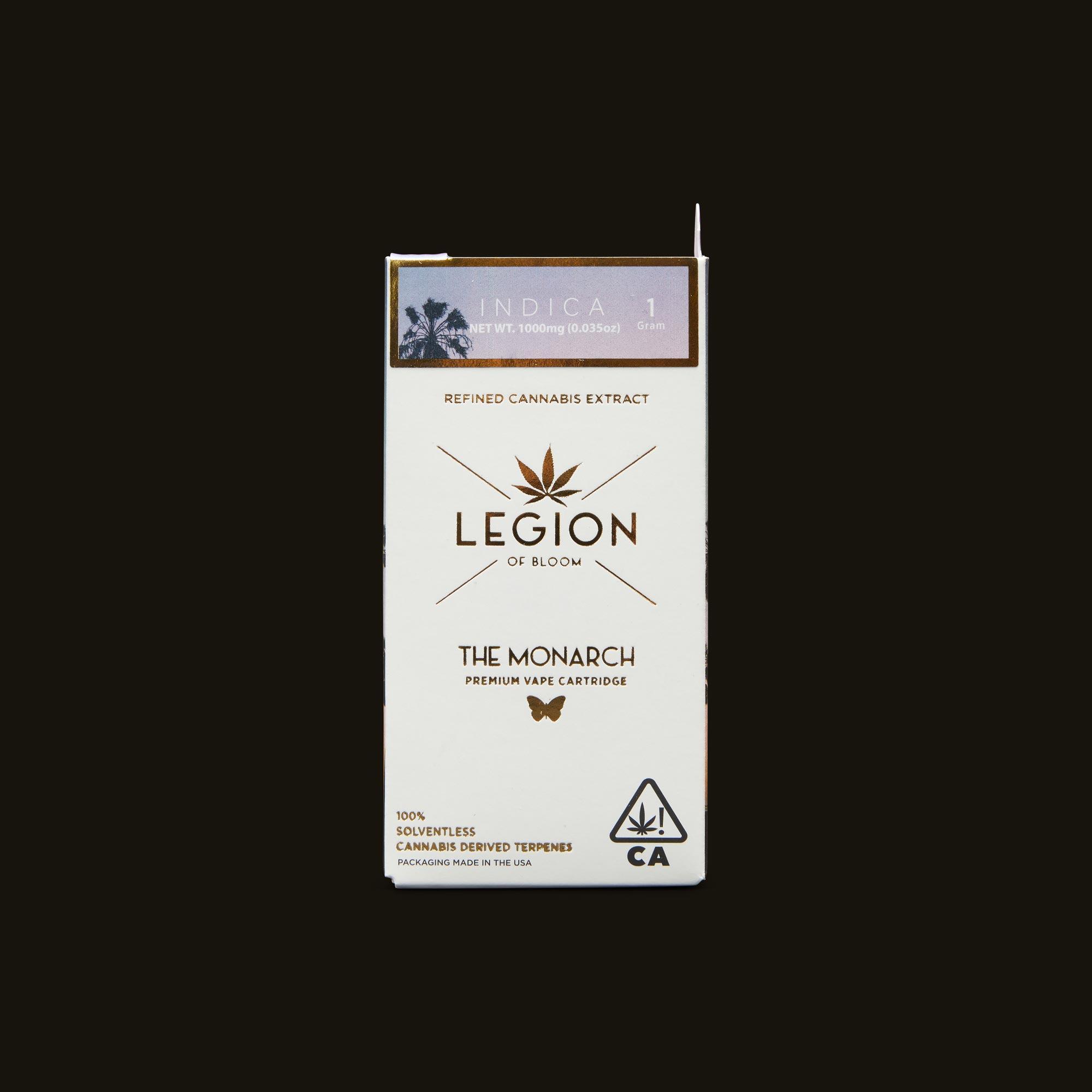 Legion of Bloom Orange Apricot Monarch 1g
