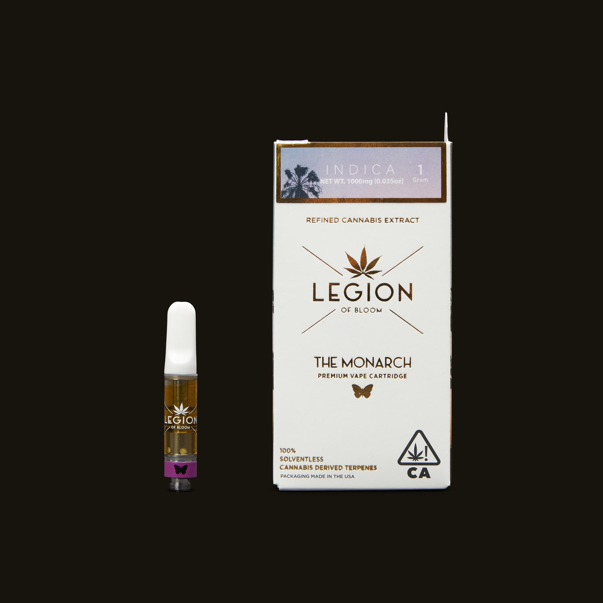 Legion of Bloom Hammerhead OG Monarch 1g