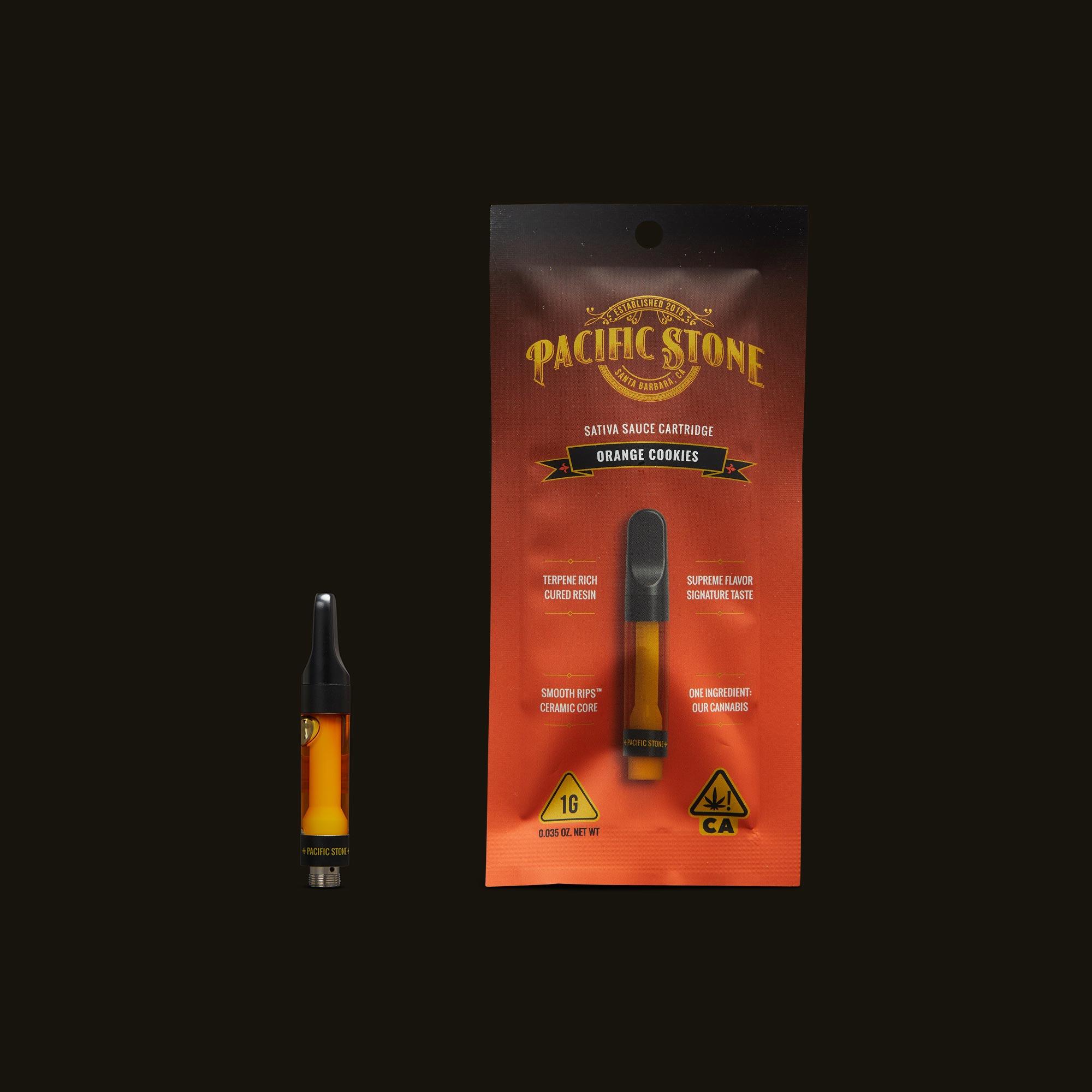 Pacific Stone Orange Cookies Sauce Cartridge