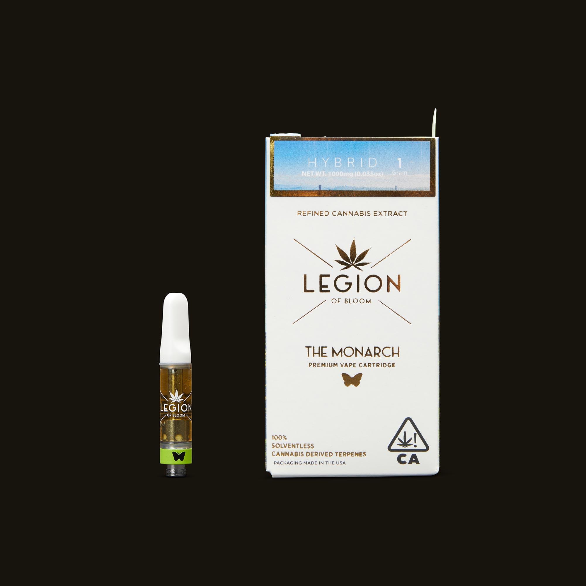 Legion of Bloom Banana OG Monarch 1g