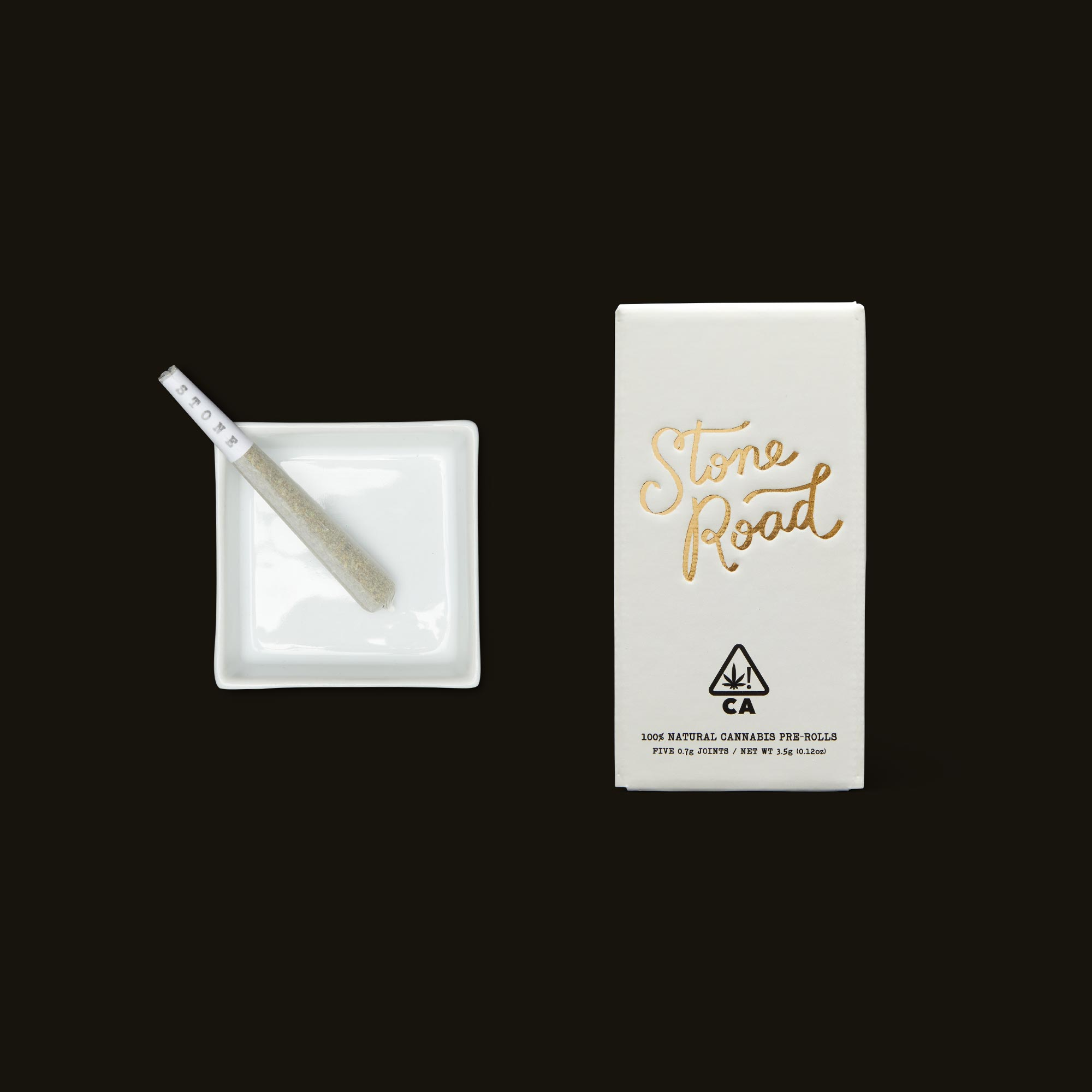 Stone Road Peaches N Cream Infused Pre-Roll Pack