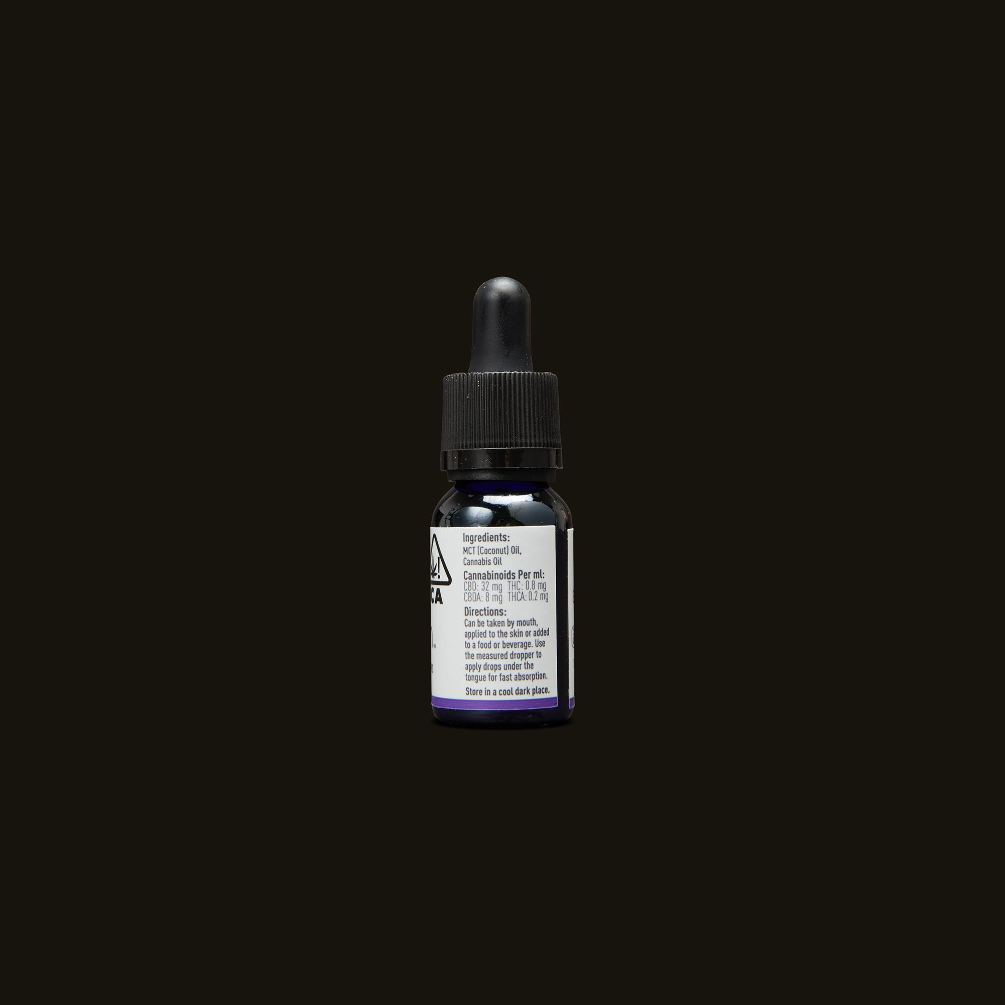 Care By Design 40:1 Full Spectrum CBD Drops - 0.5oz Ingredients