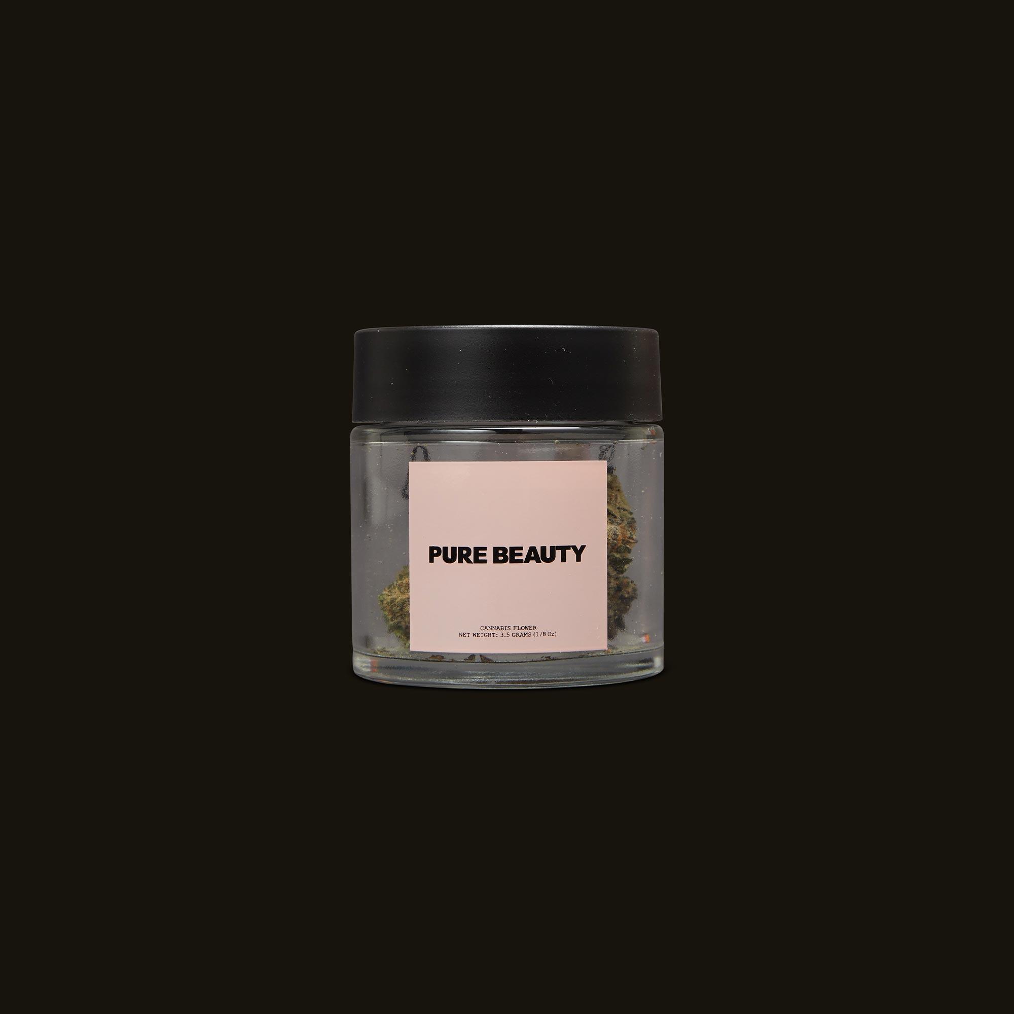 Pure Beauty Sea Star Front Jar