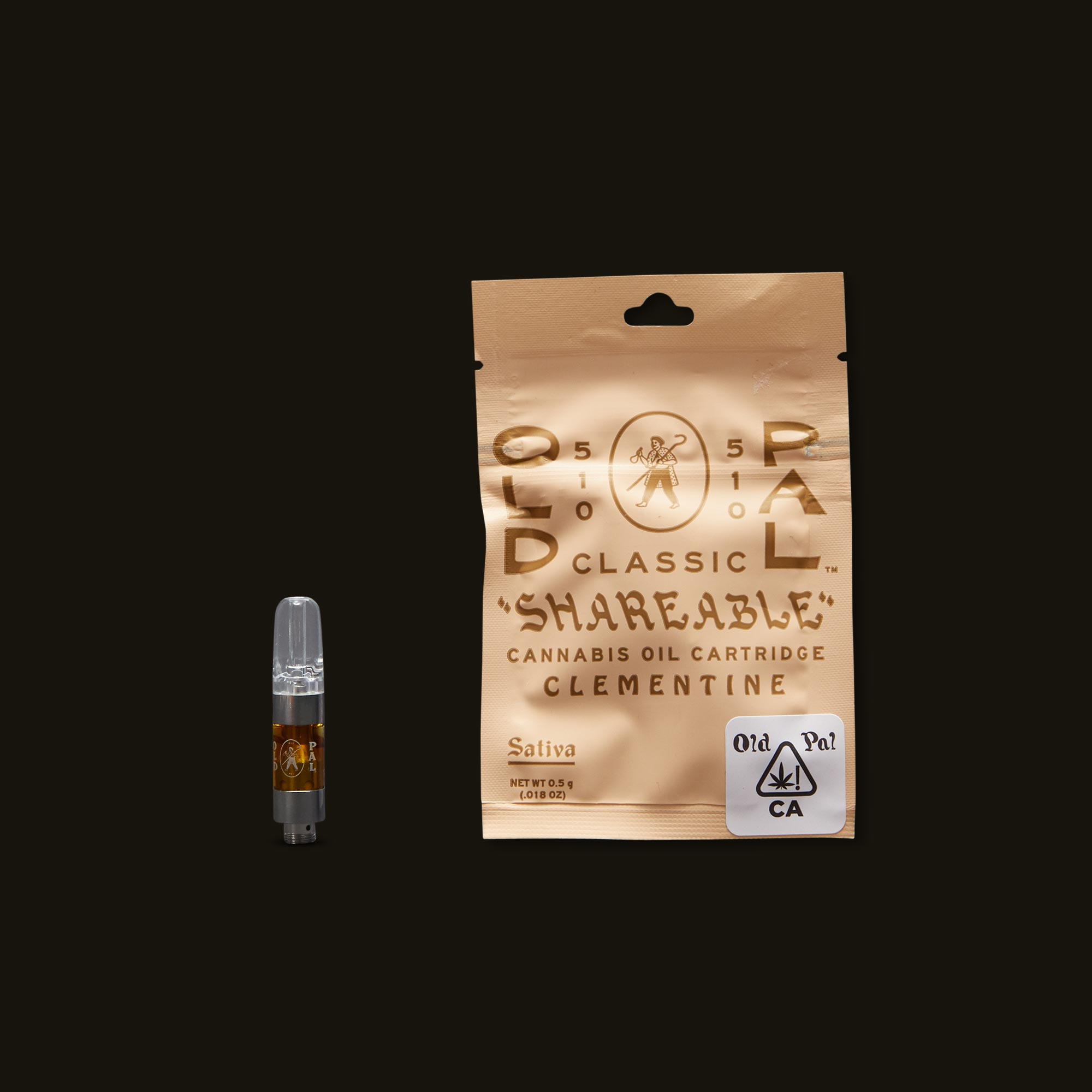 OLD PAL Clementine Cartridge - 0.5g