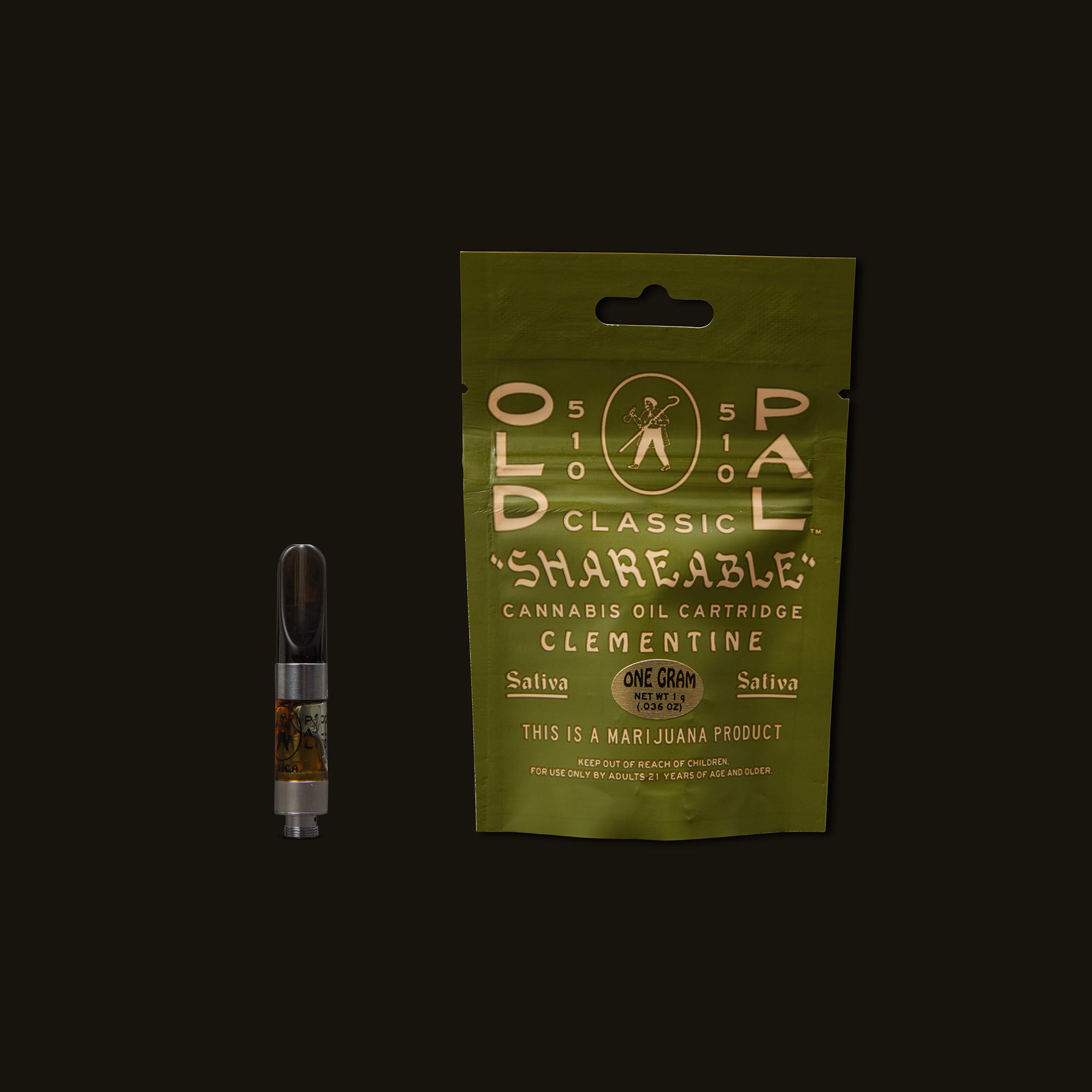 OLD PAL Clementine Cartridge - 1g