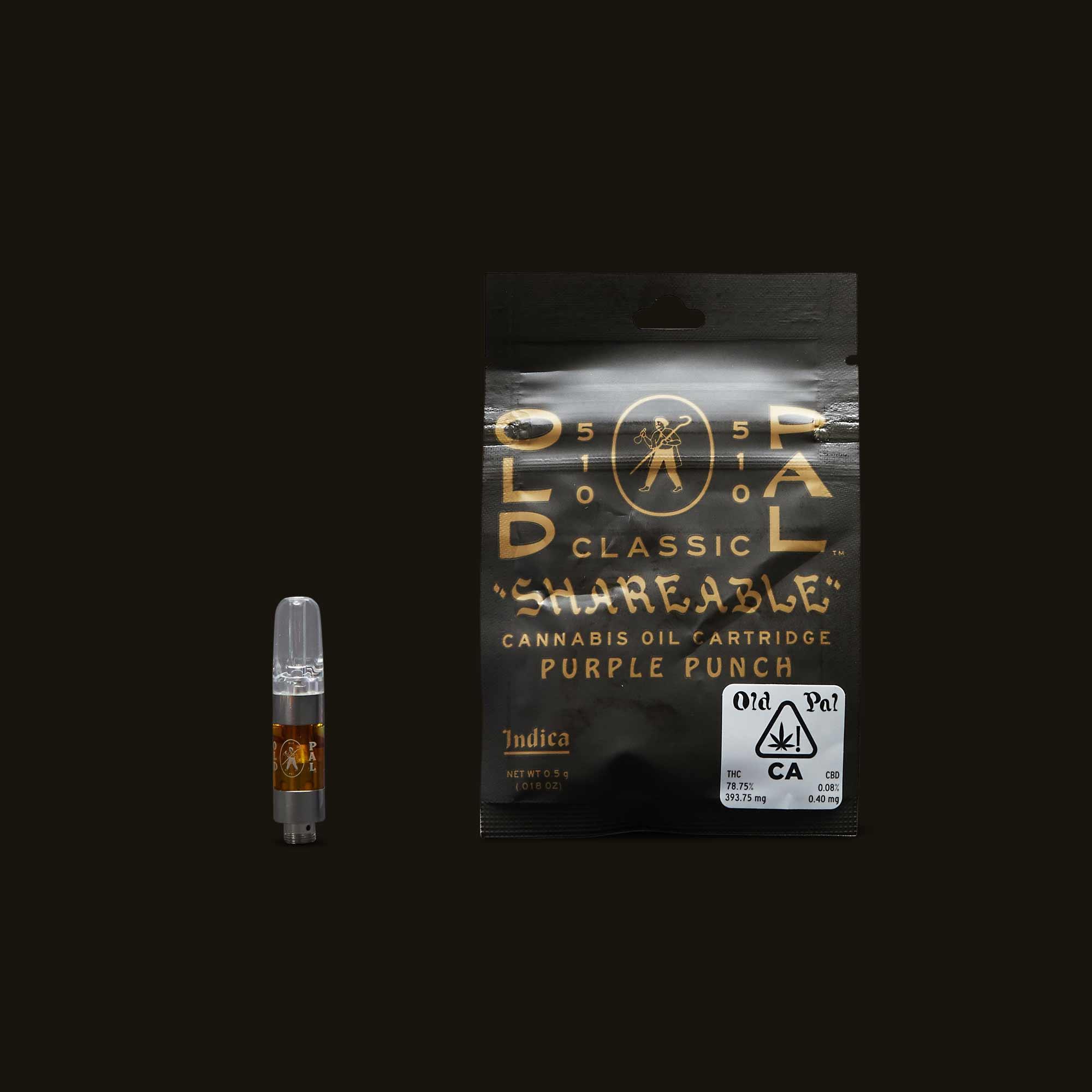 OLD PAL Purple Punch Cartridge - 0.5g