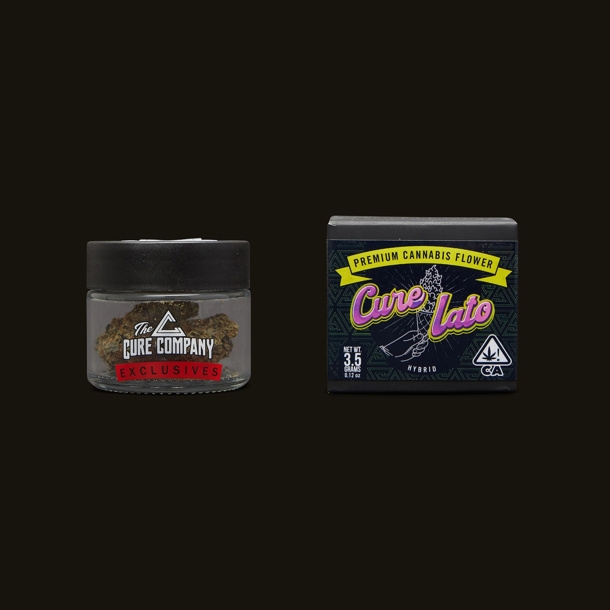 The Cure Company Curelato Jar and Packaging