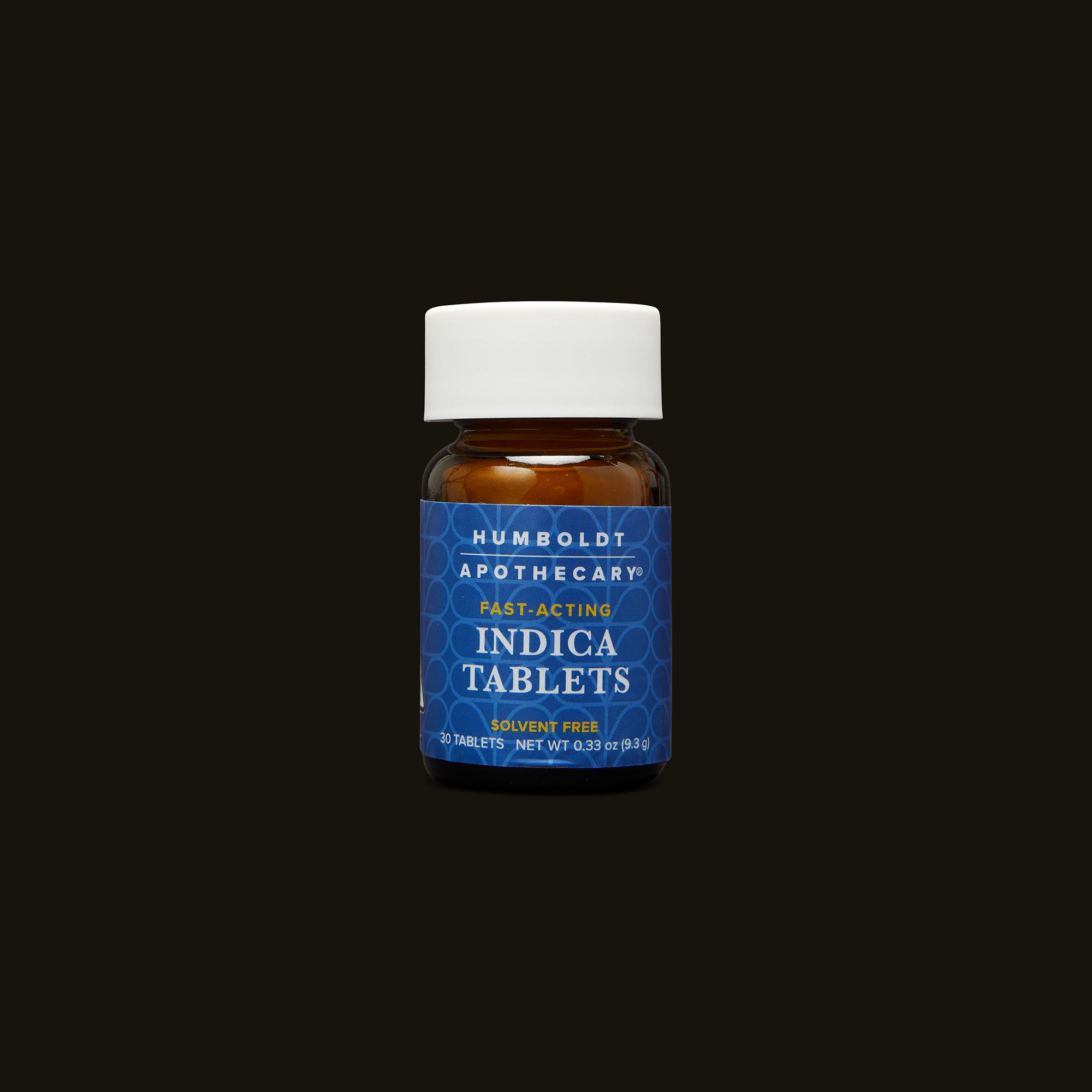 Humboldt Apothecary Indica Tablets Bottle