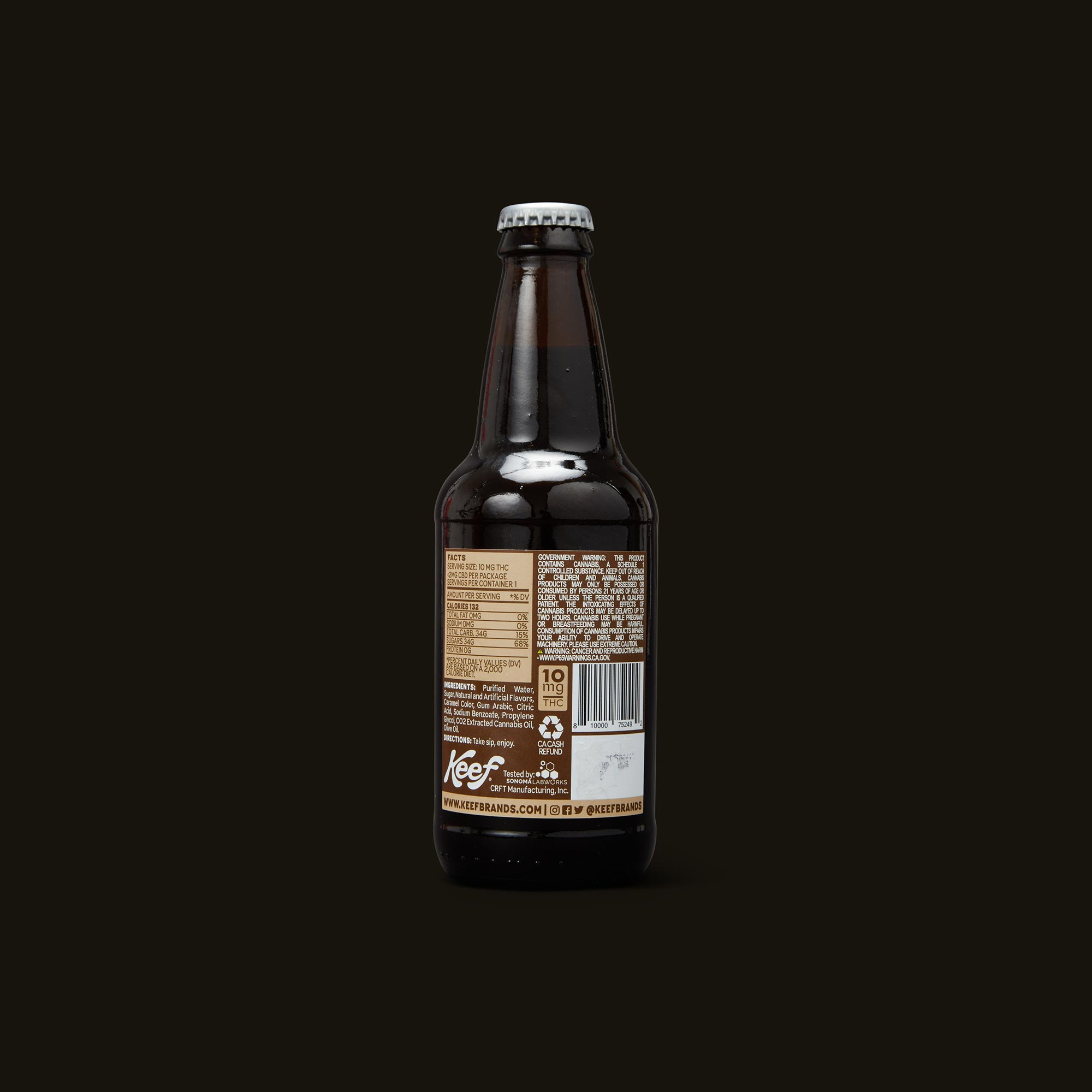 Keef Cola Bubba Kush Root Beer Ingredients