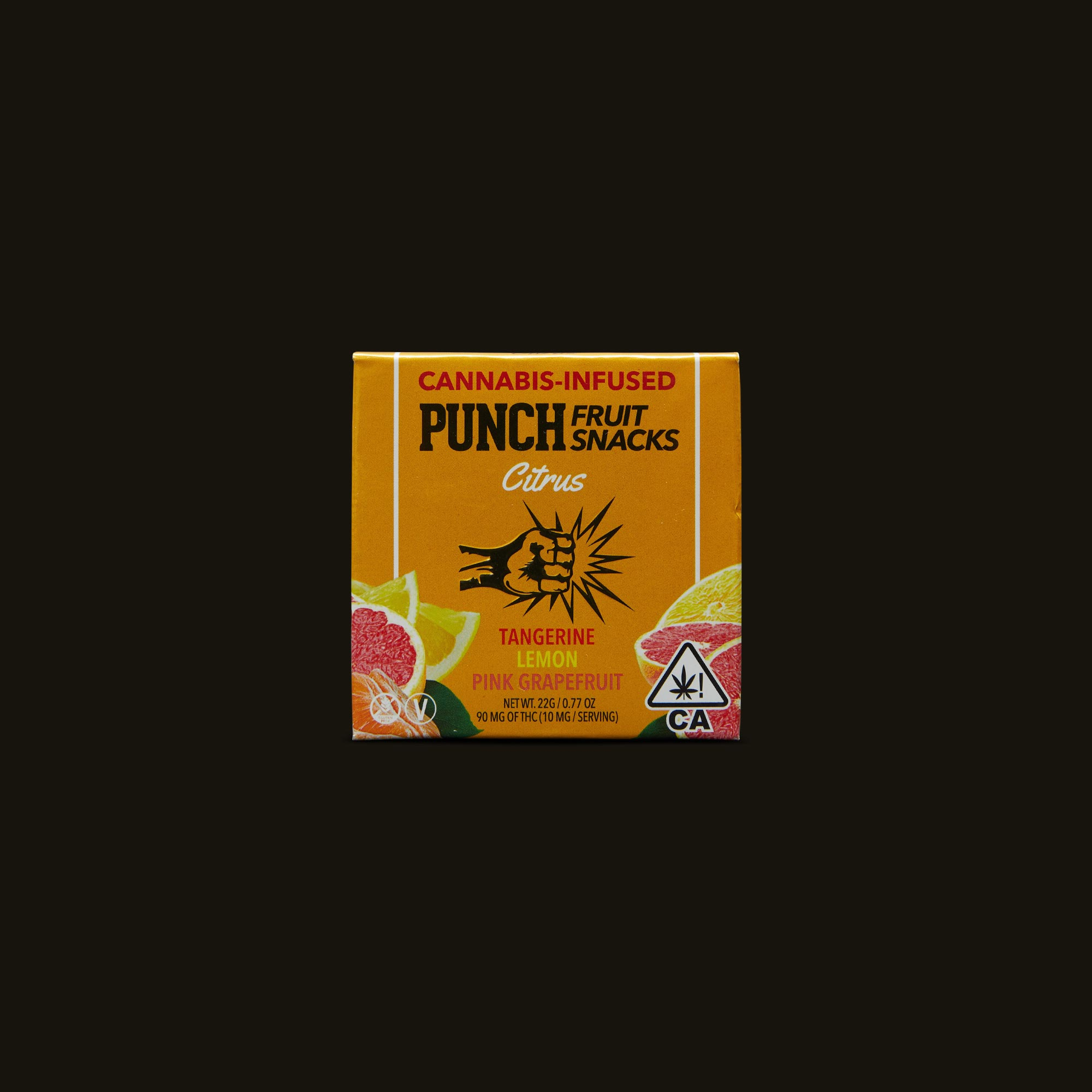 Punch Edibles Punch Fruit Snacks Citrus Front Packaging