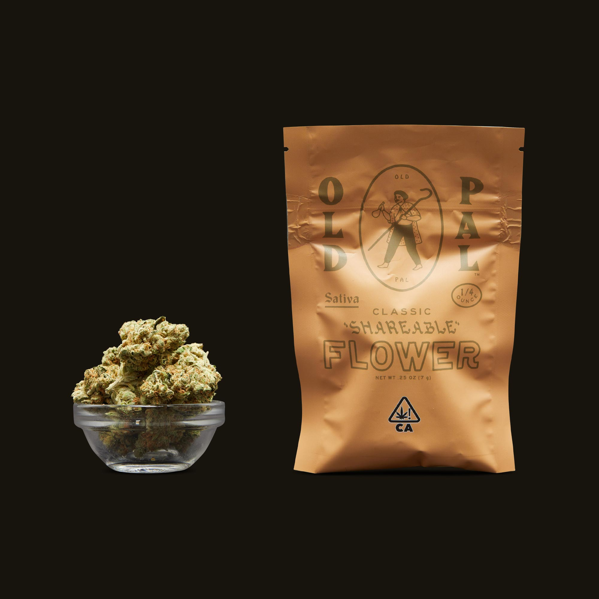 OLD PAL Sativa Shareable Flower 1/4 Ounce