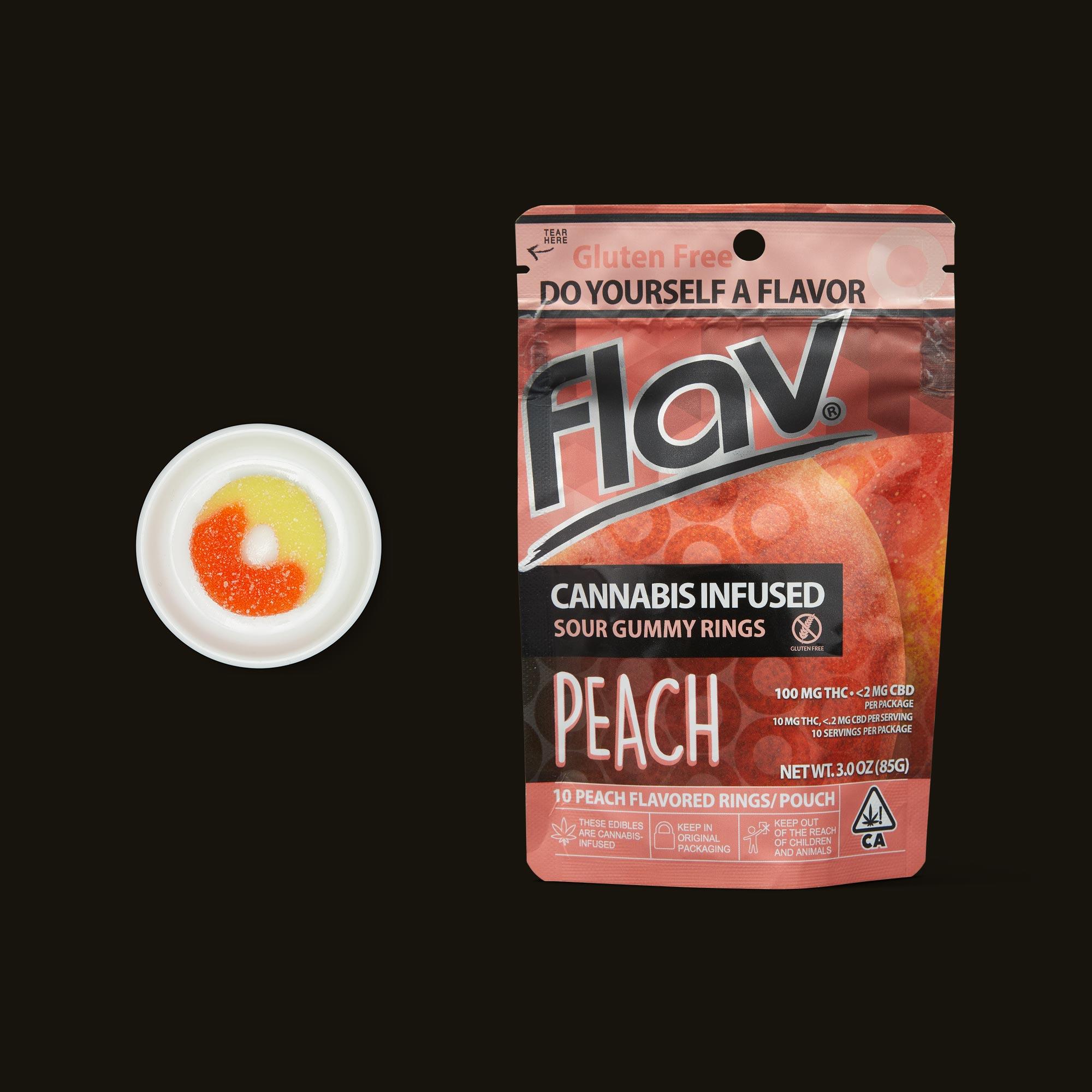 Flav Sour Peach Rings