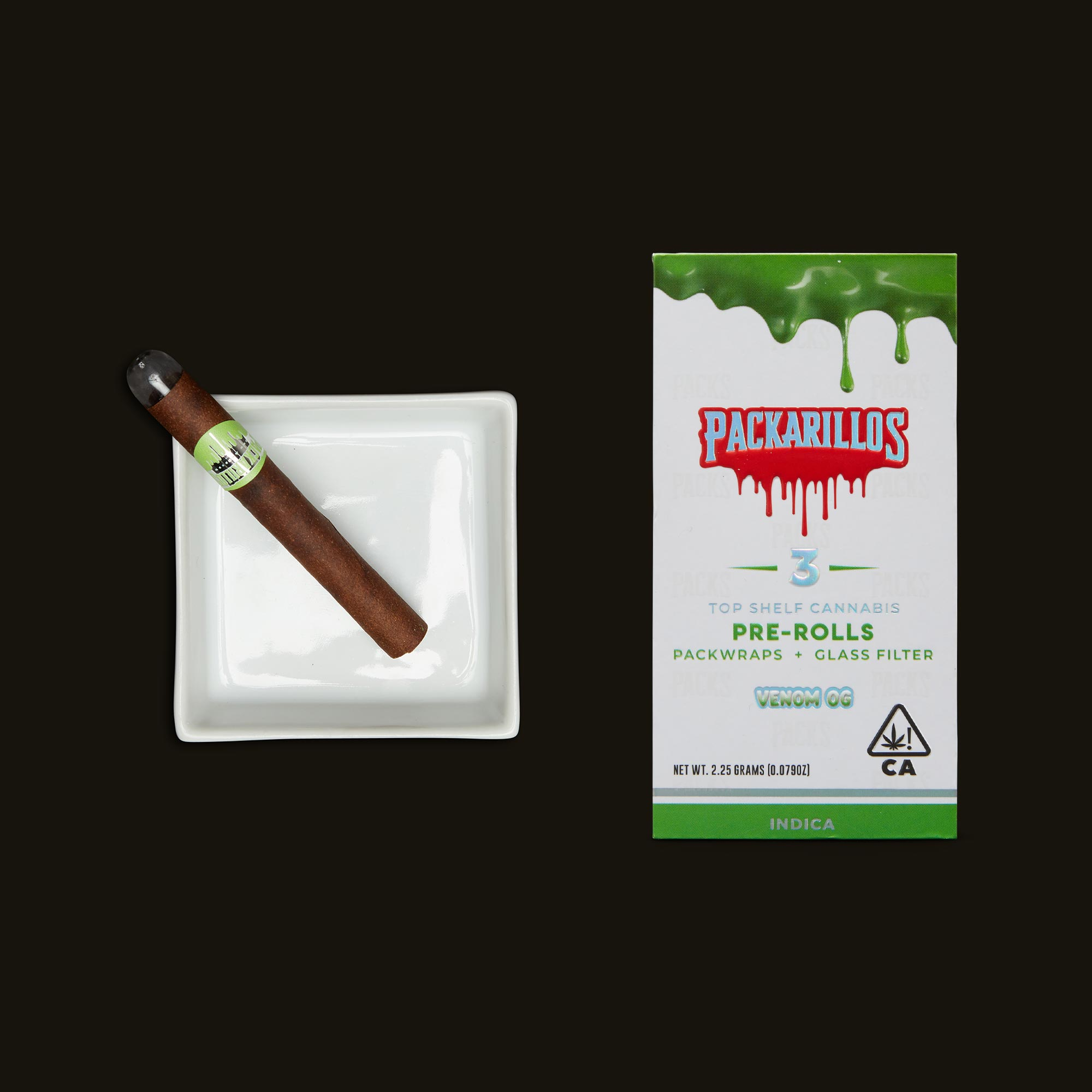 Packwoods Packarillos Venom OG Blunts