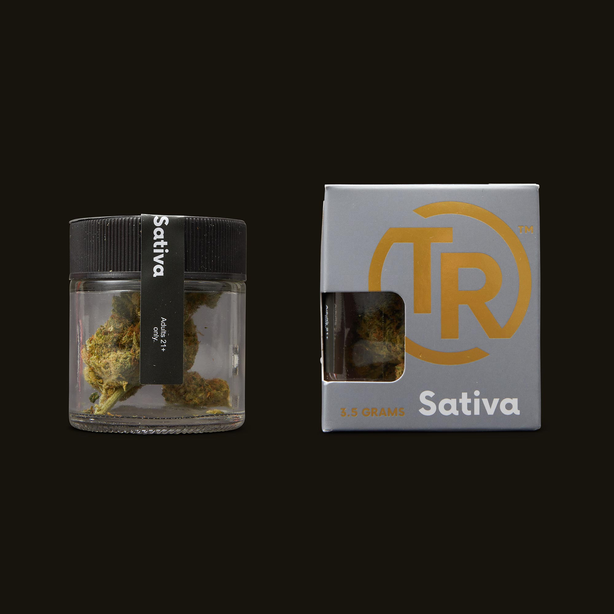 Tyson Ranch Sour Diesel Jar and Packaging
