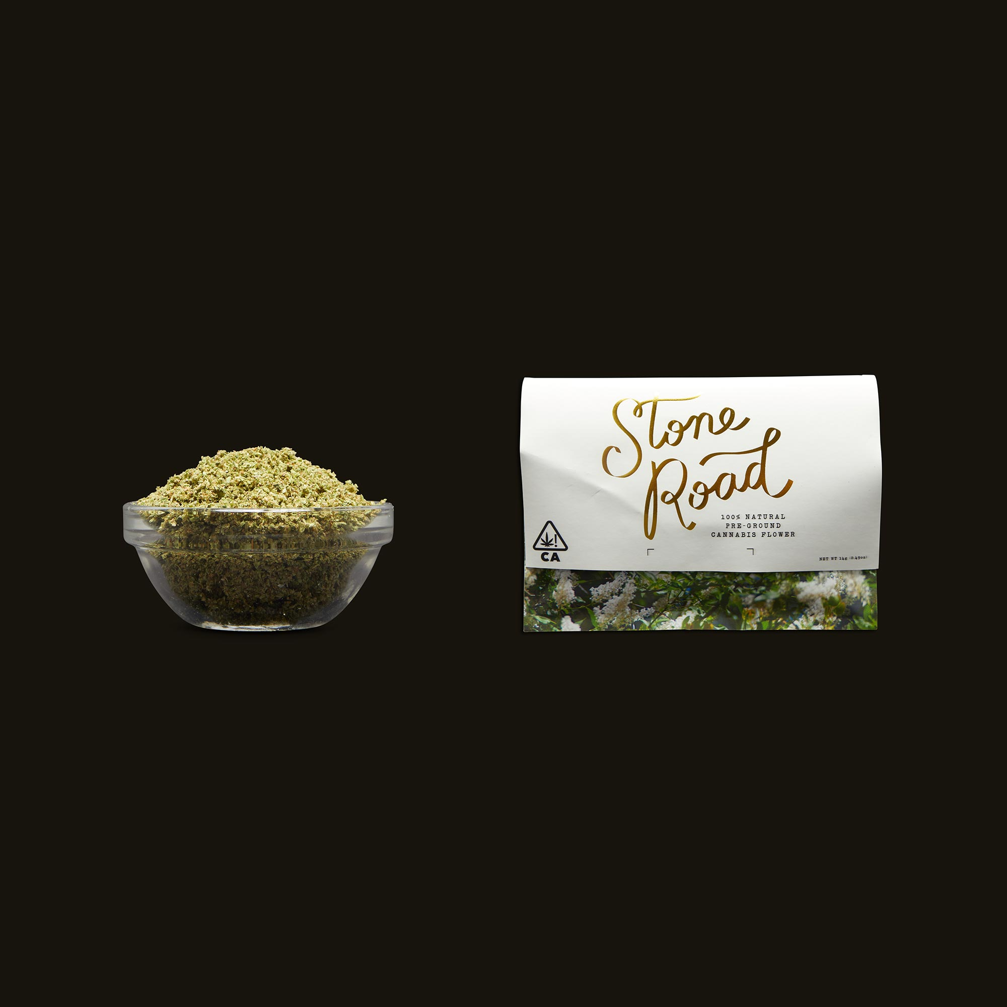 Stone Road Strawnana Roll Your Own Pouch 1/2 Ounce