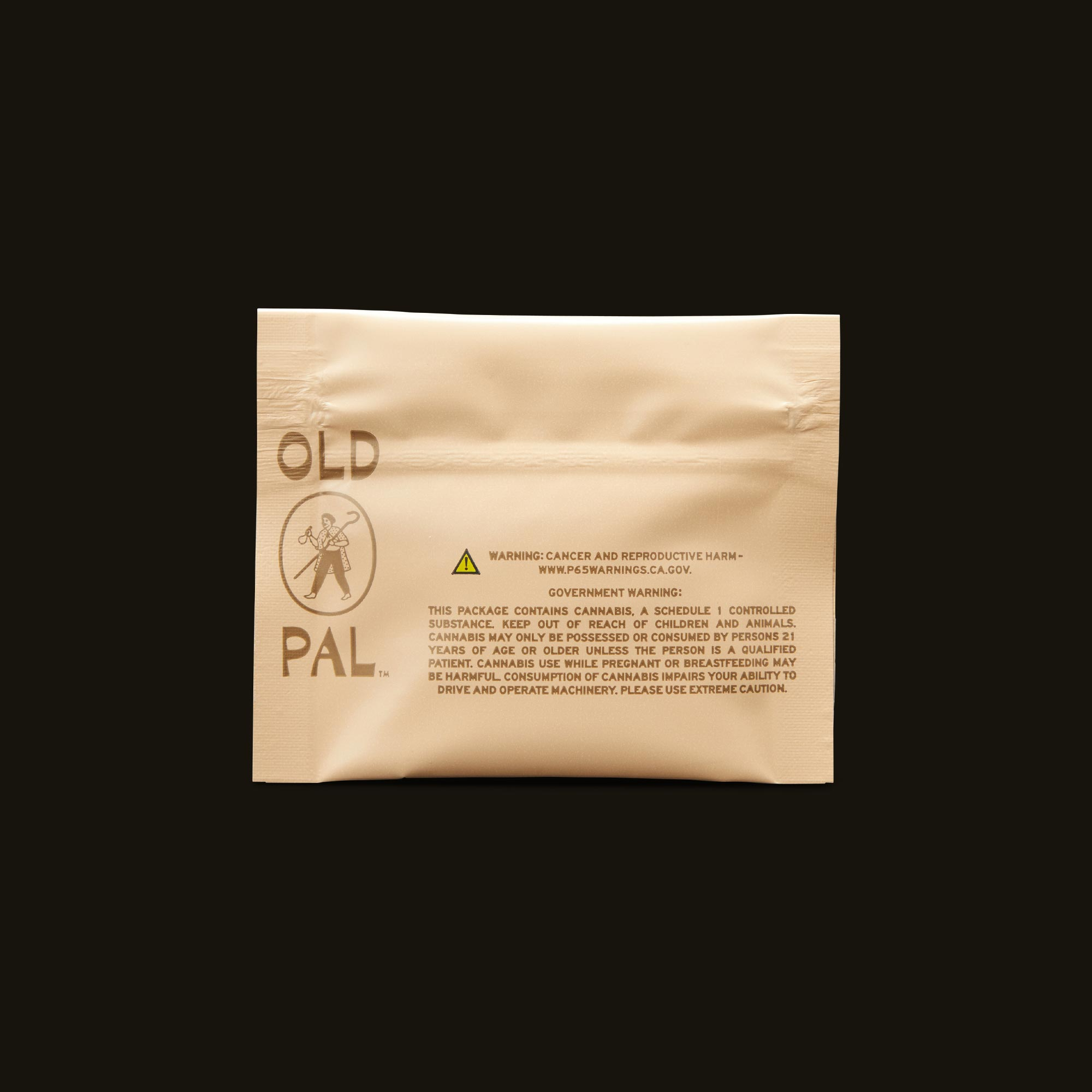 OLD PAL Sativa 5g Ready to Roll Back Packaging