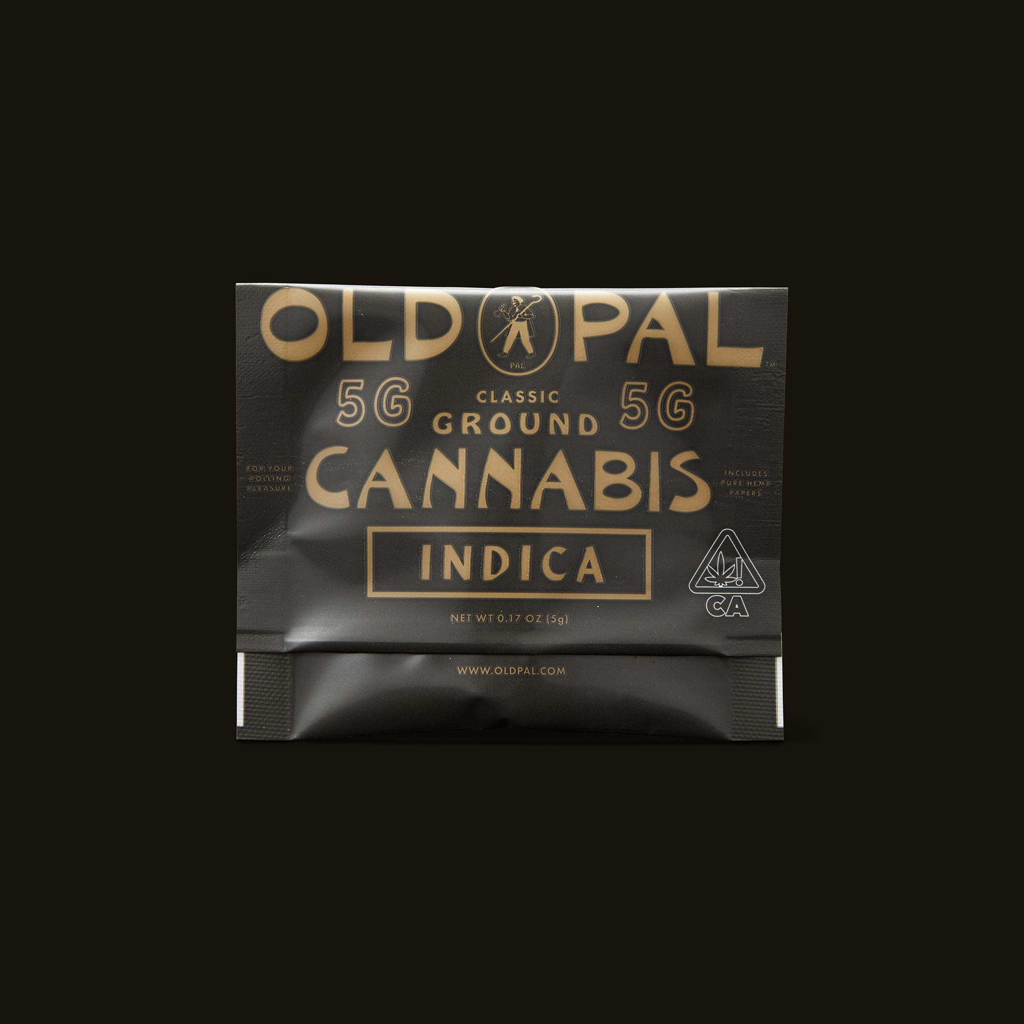 OLD PAL Indica 5g Ready to Roll Front Packaging