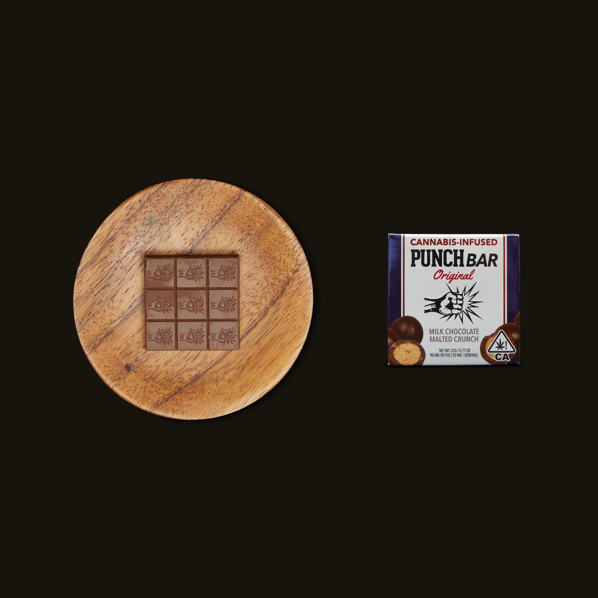 Punch Edibles PUNCH BAR Milk Chocolate Malted Crunch
