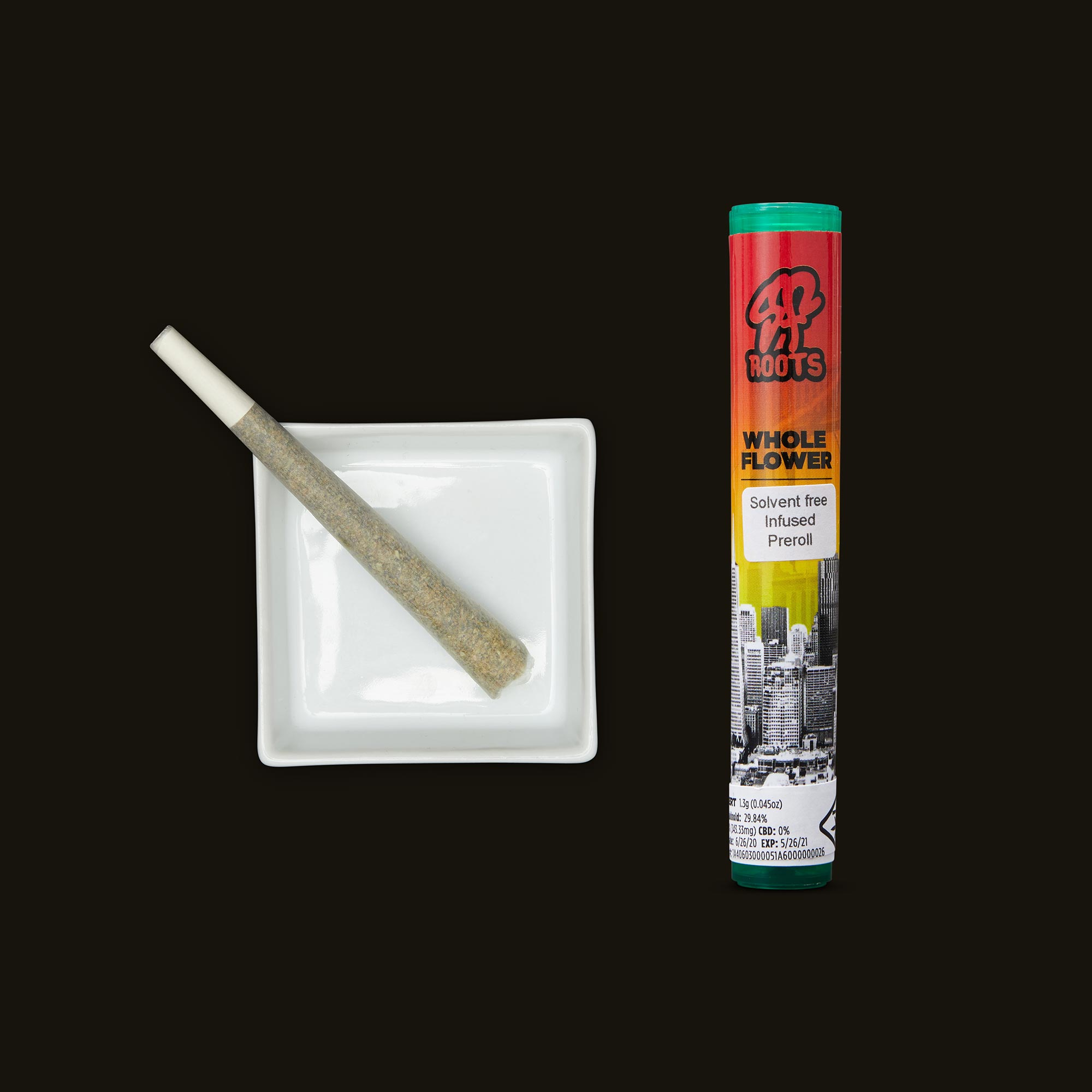 SF Roots Sherbert Infused Pre-Roll