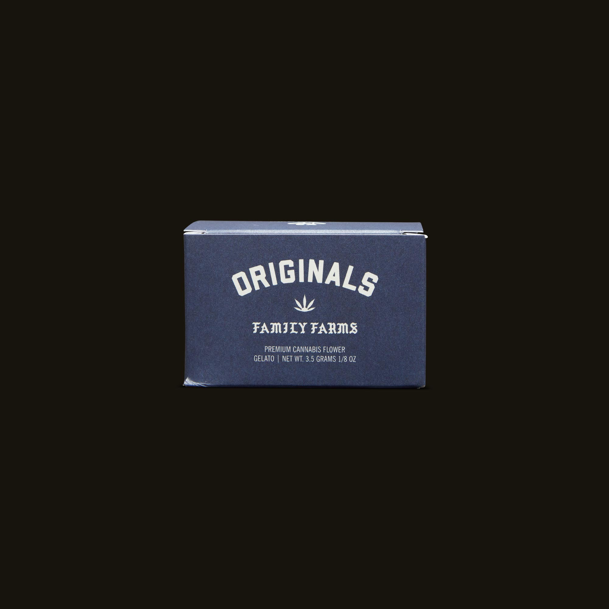 Originals Gelato Front Packaging