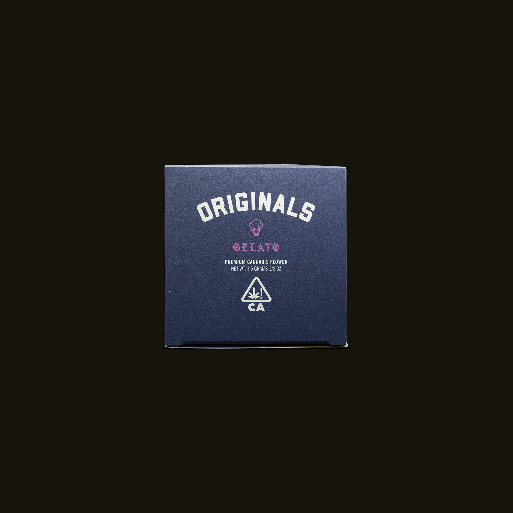 Originals Gelato Top Packaging