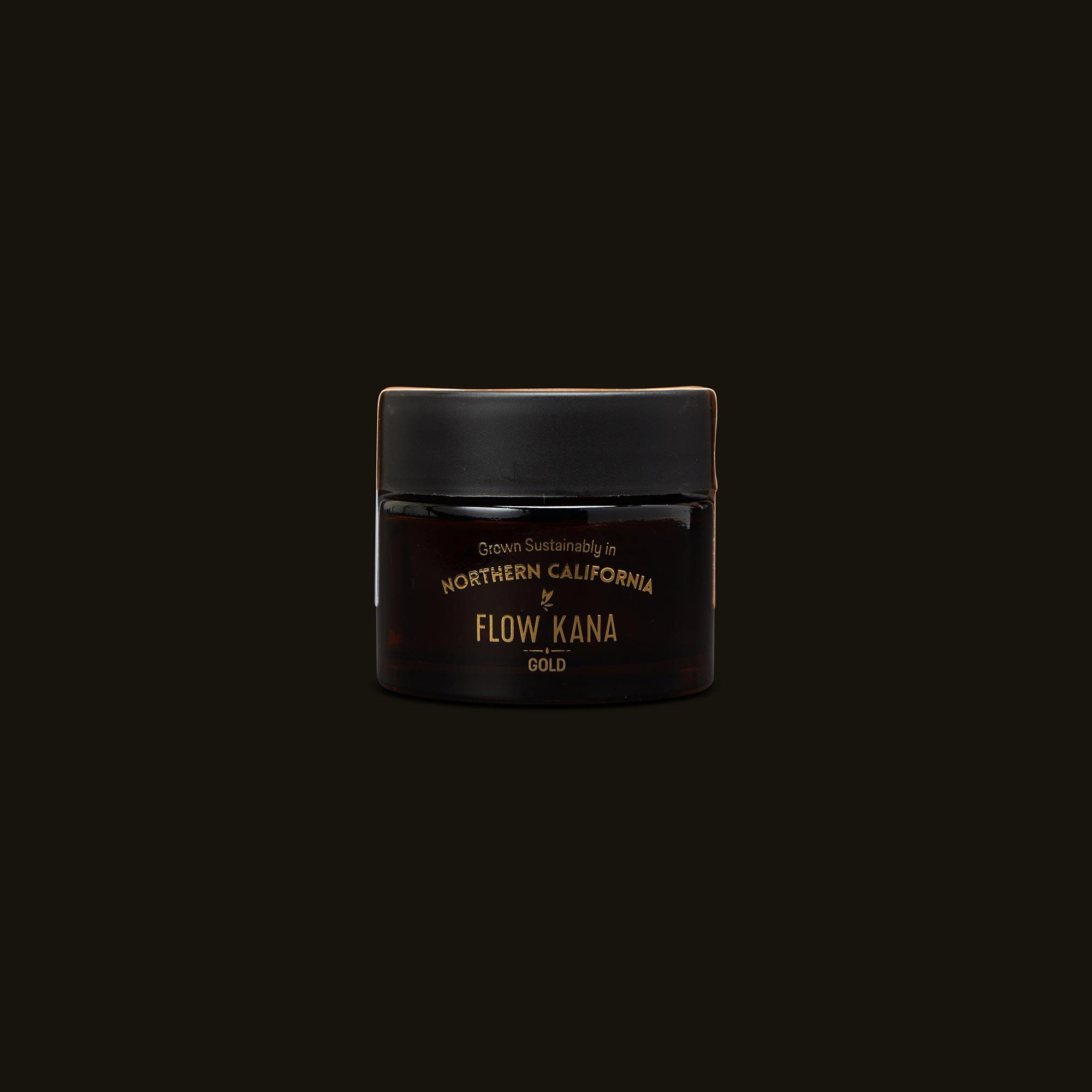 Flow Kana Sativa Gold Eighths Front Jar