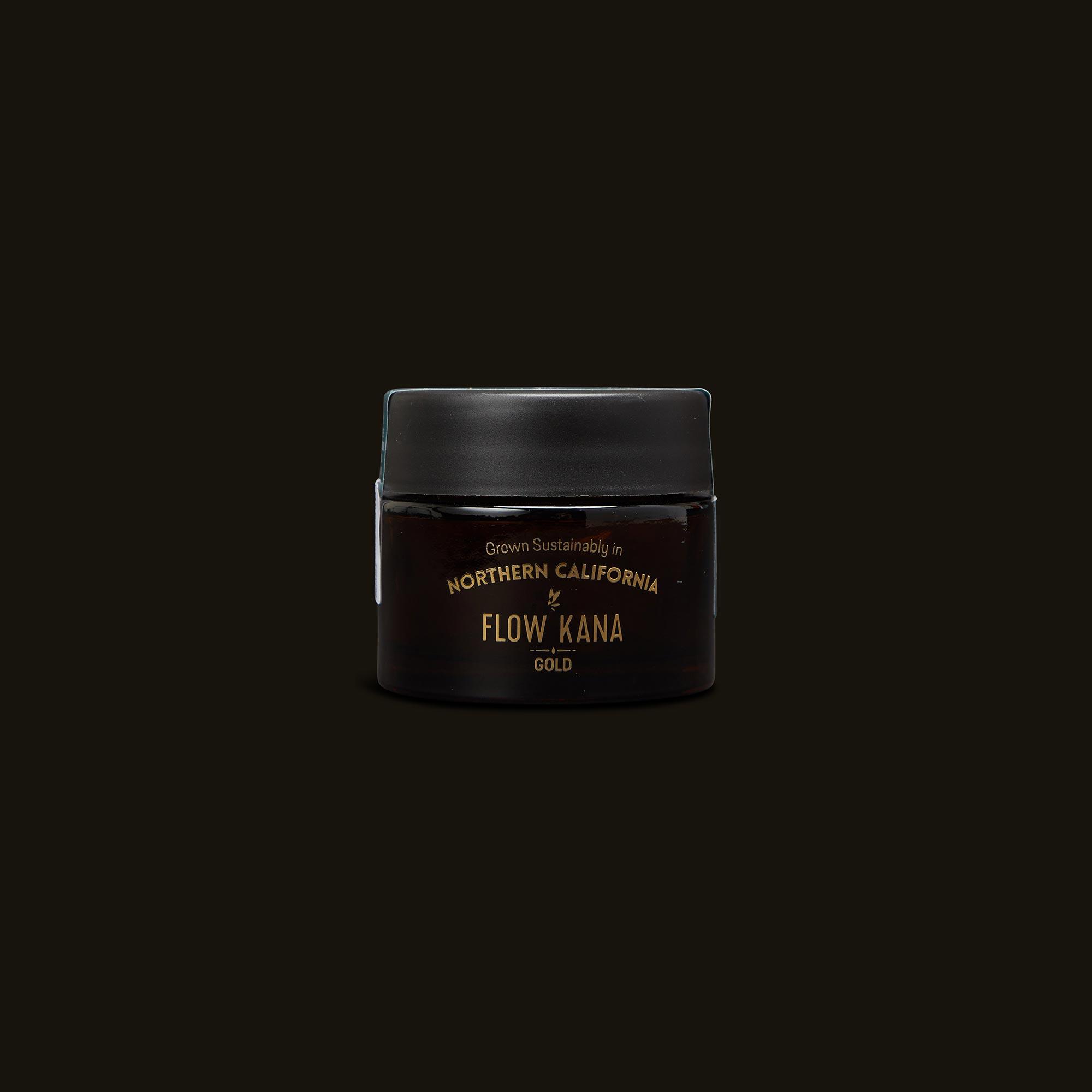 Flow Kana Hybrid Gold Eighths Front Jar