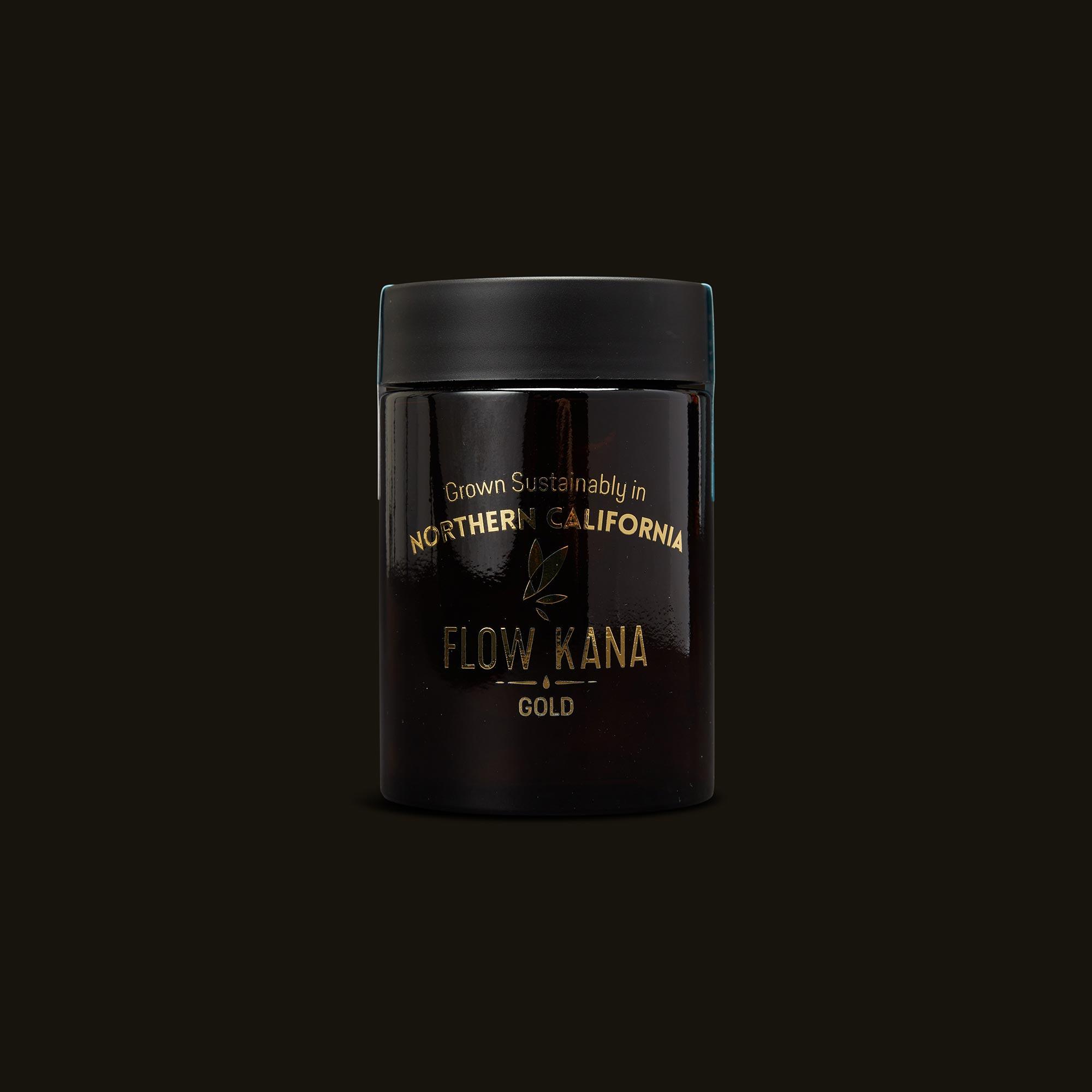 Flow Kana CBD Gold Quarters Front Jar