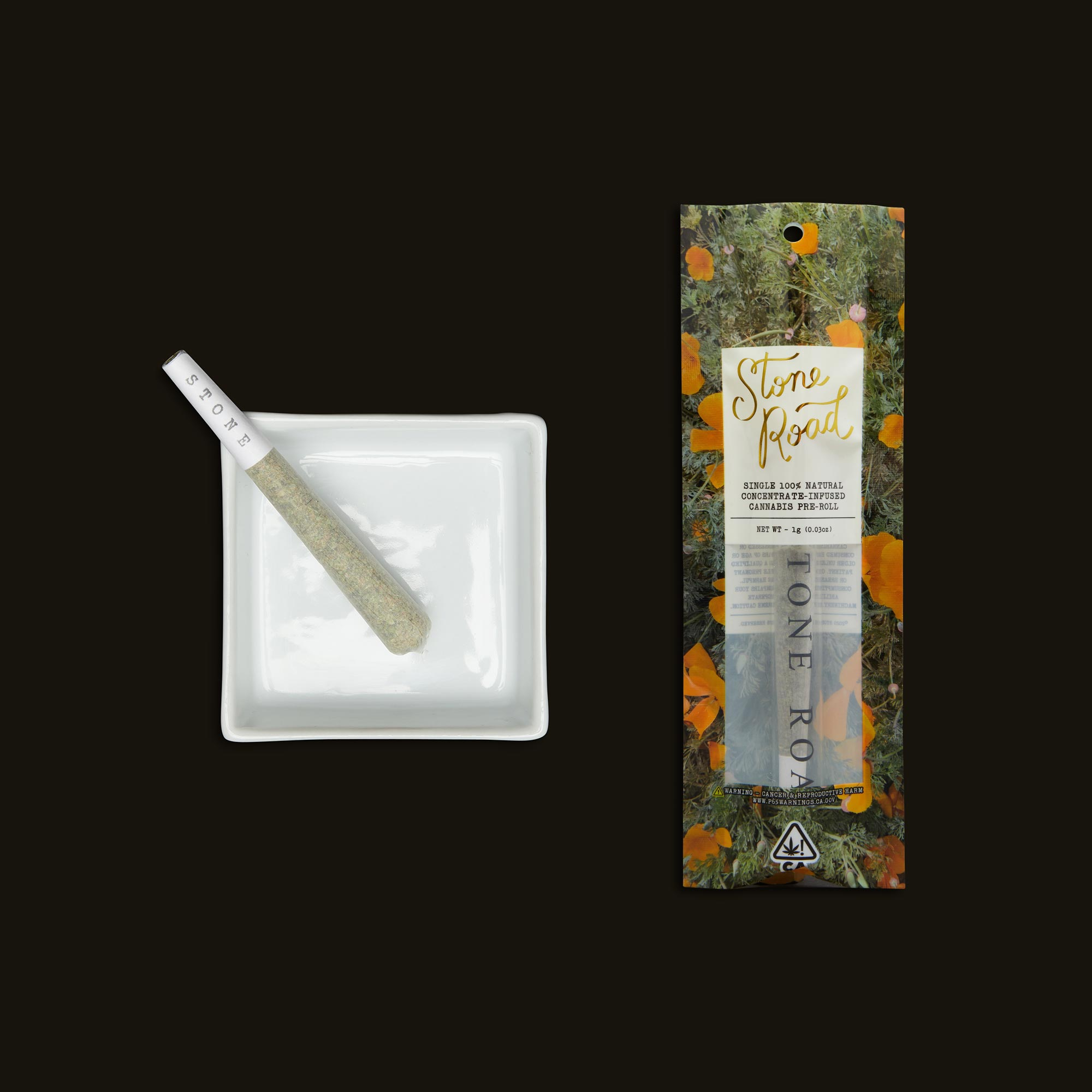 Stone Road Strawberry Banana Infused Pre-Roll