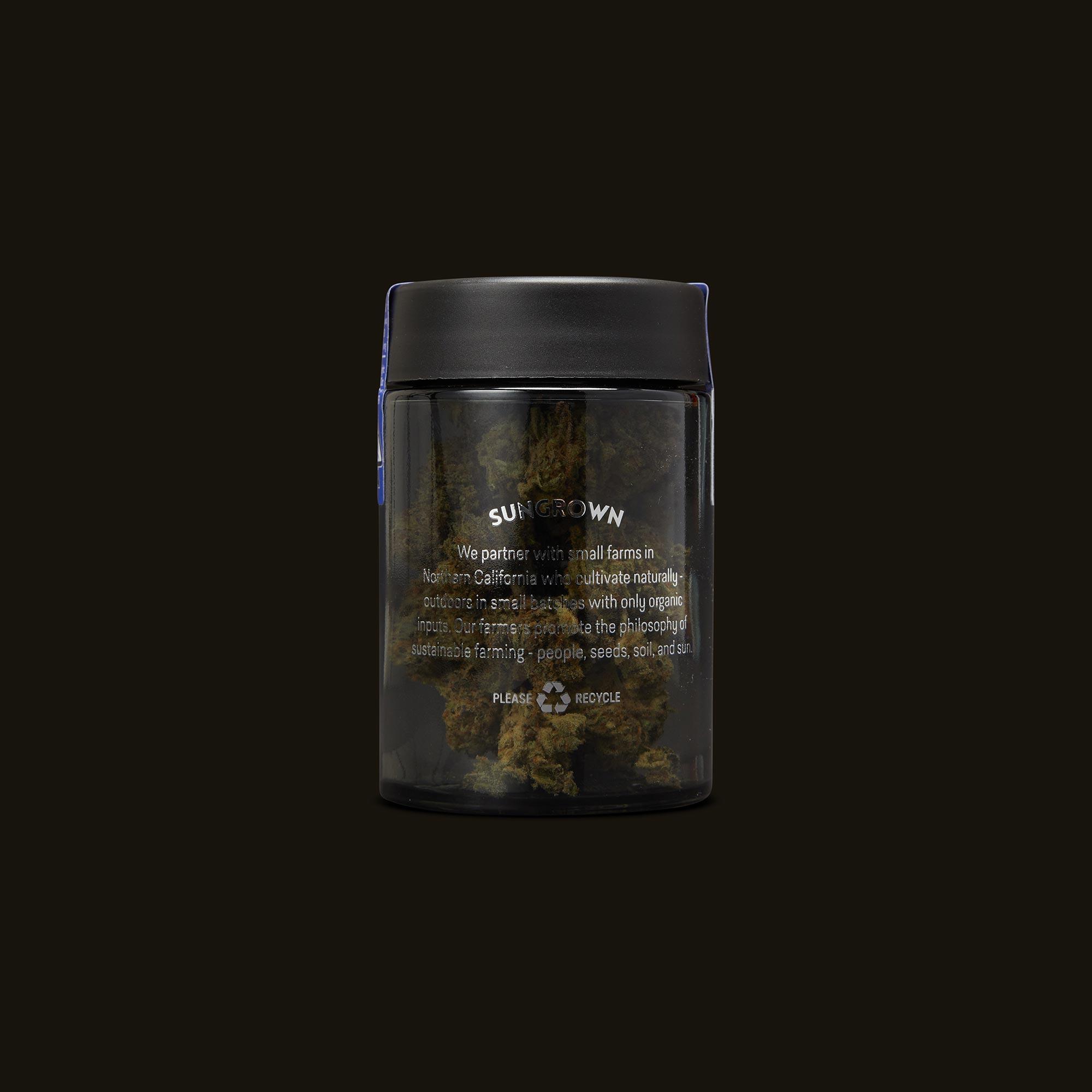 Flow Kana Indica Silver Quarters Back Jar