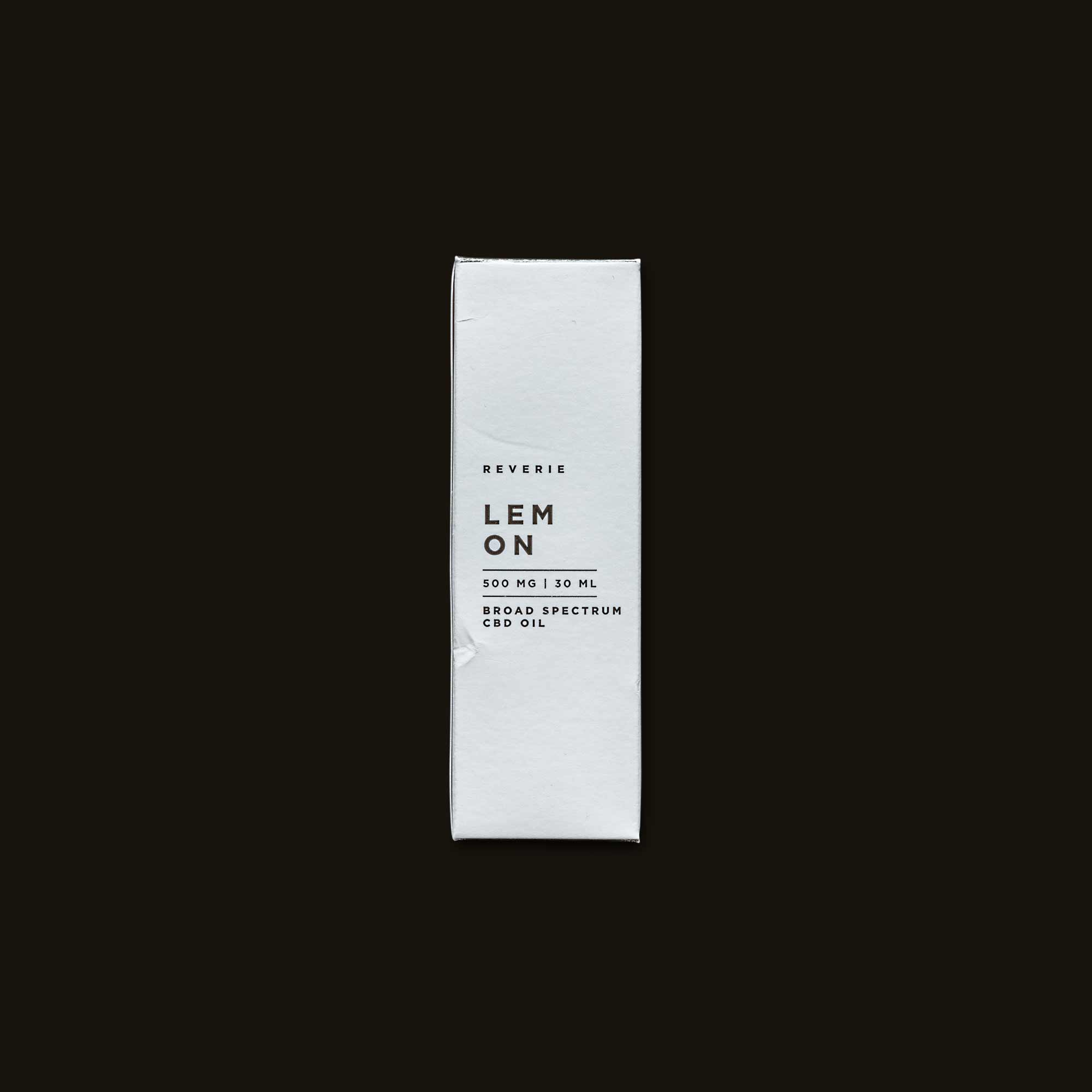 Lemon Broad Spectrum CBD Oil - 30ml (500mg CBD)