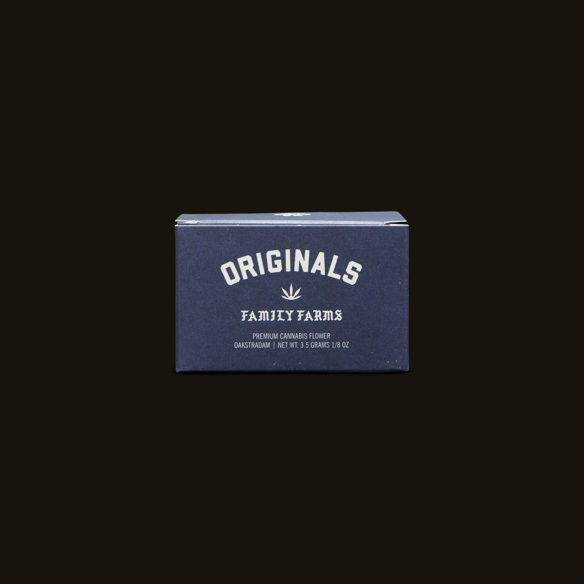 Originals Oakstradam OG Front Packaging
